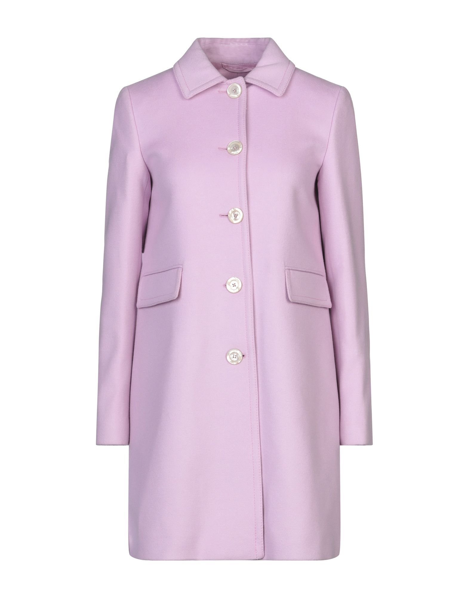 Gucci Lilac Wool Overcoat