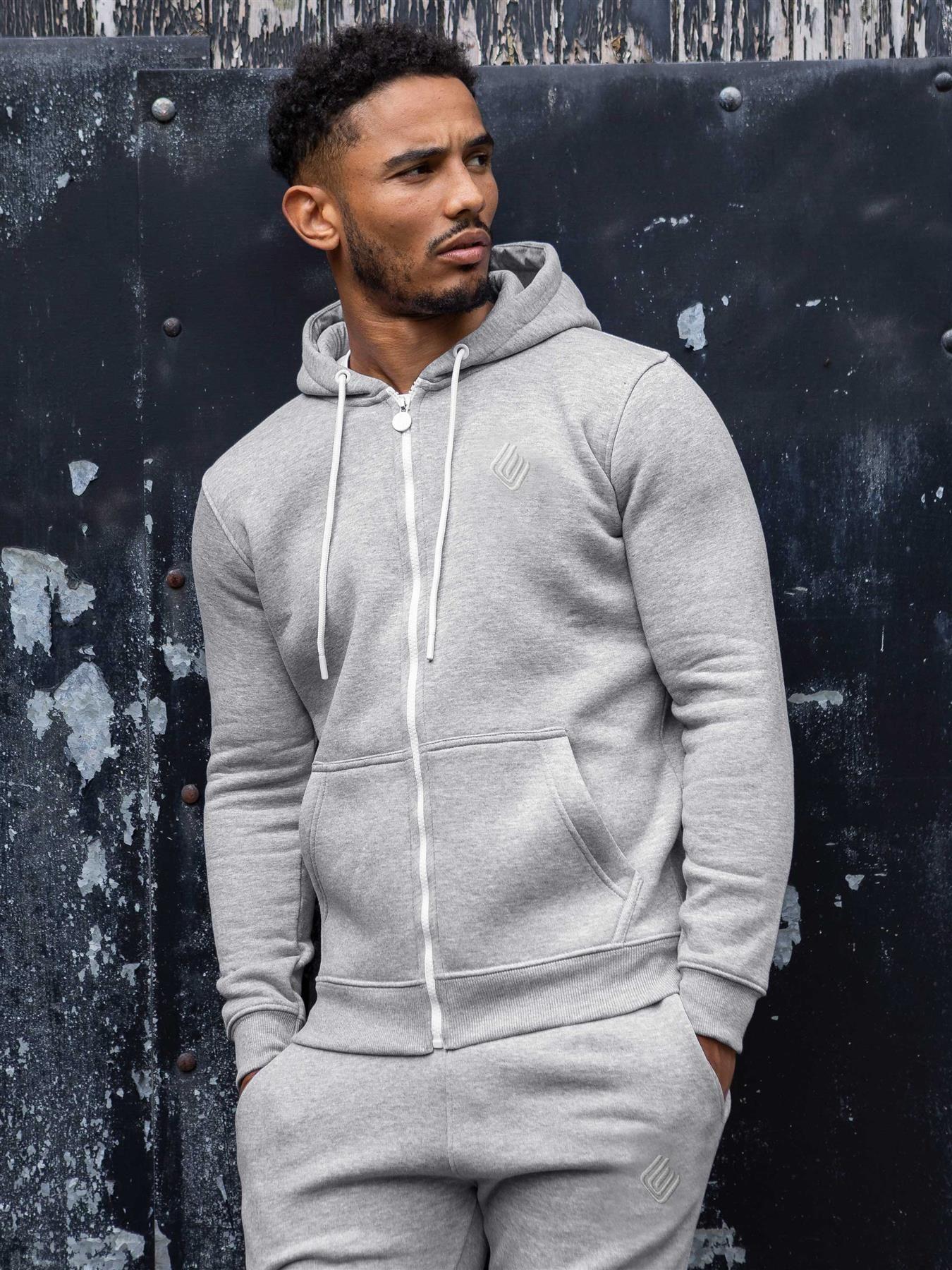 Mens Zip up Hoodie   Enzo Designer Menswear