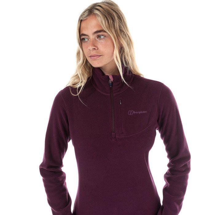 Women's Berghaus Prism Micro Polartec FLeece in Purple