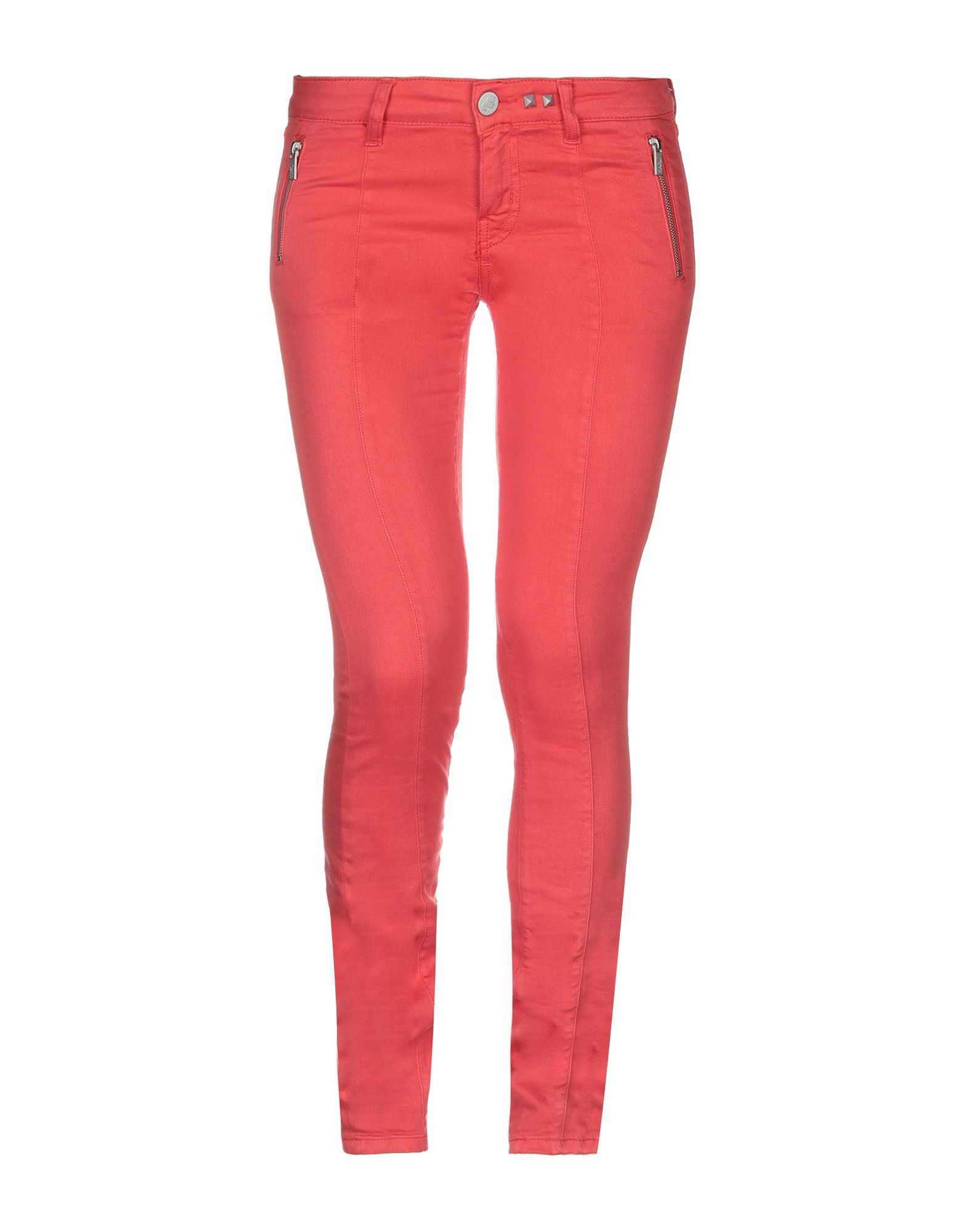 Karl Lagerfeld Coral Cotton Skinny Jeans