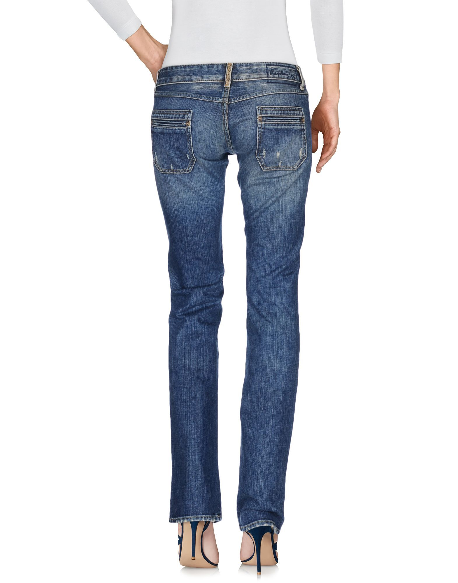 Replay Blue Cotton Jeans