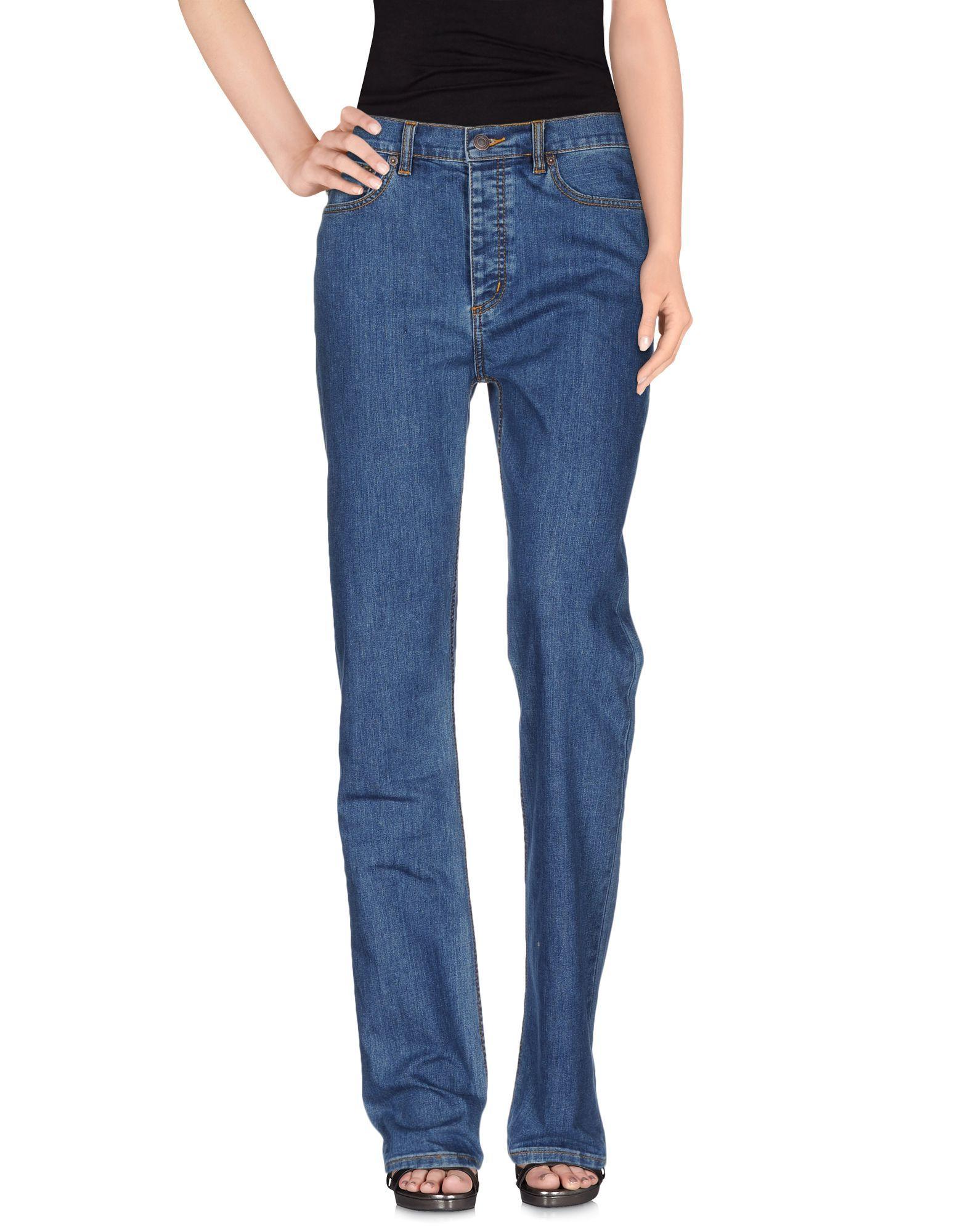 DENIM Woman Marc Jacobs Blue Cotton