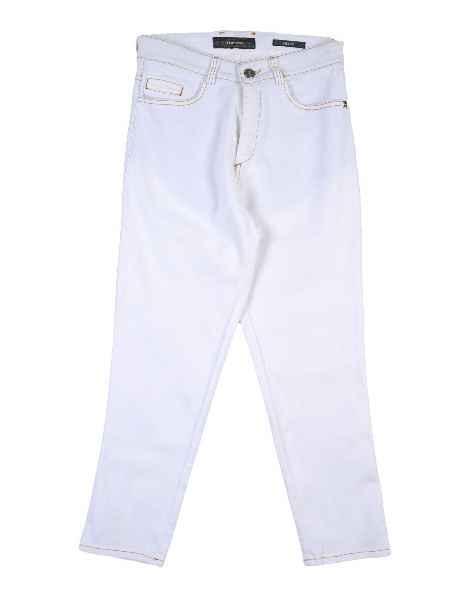 DENIM 26.7 Twentysixseven White Boy Cotton