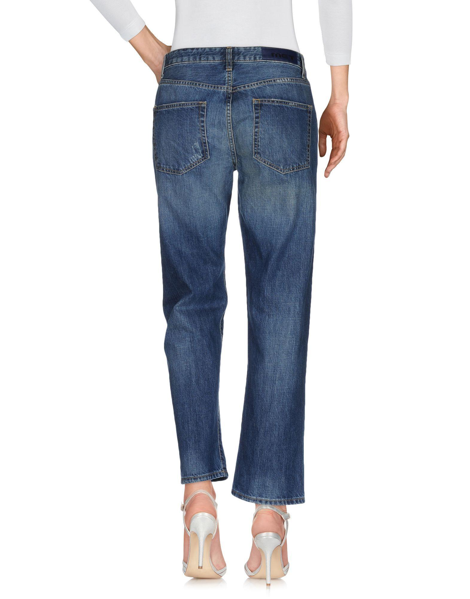 Polo Ralph Lauren Blue Cotton Jeans