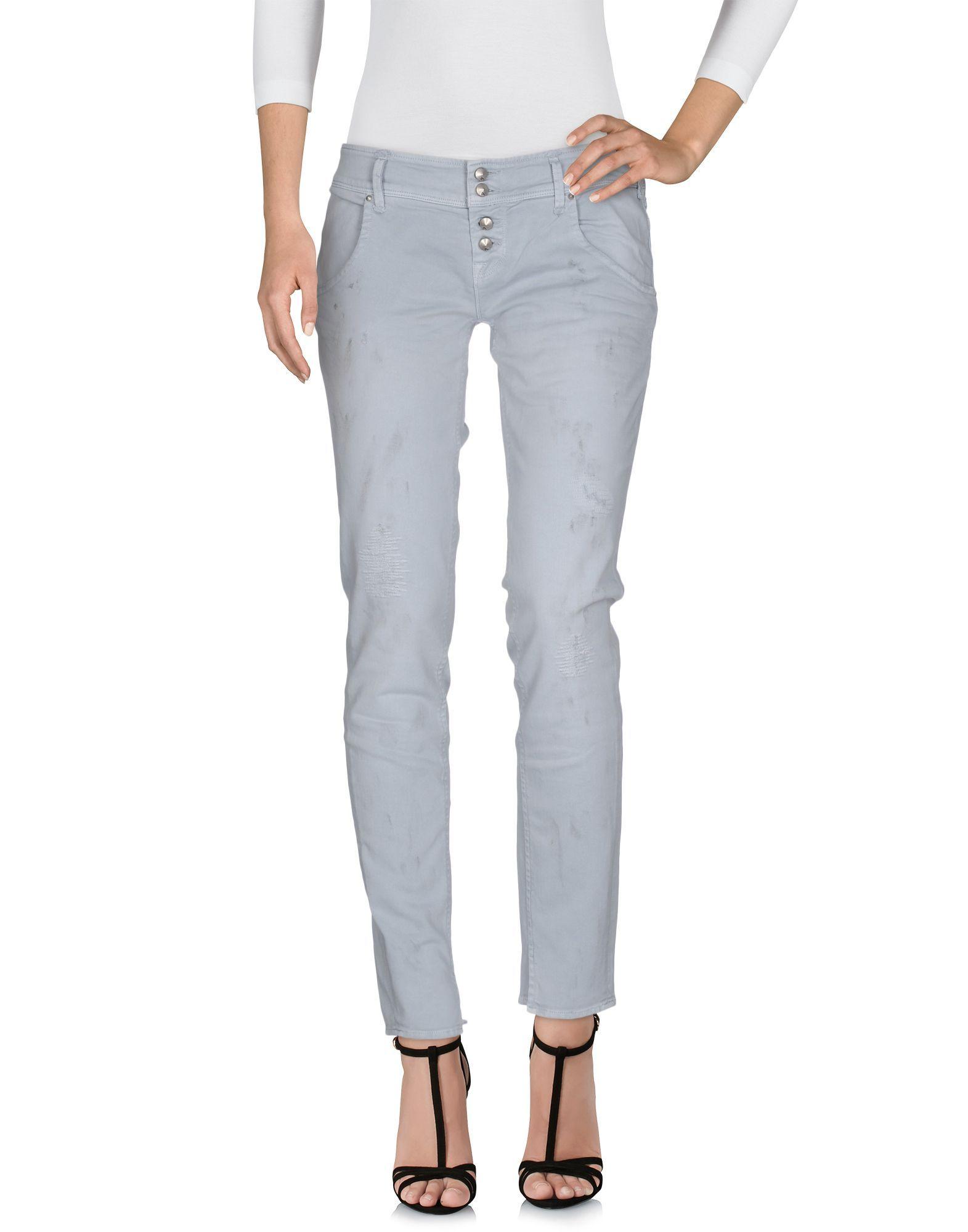DENIM Cycle Light grey Woman Cotton