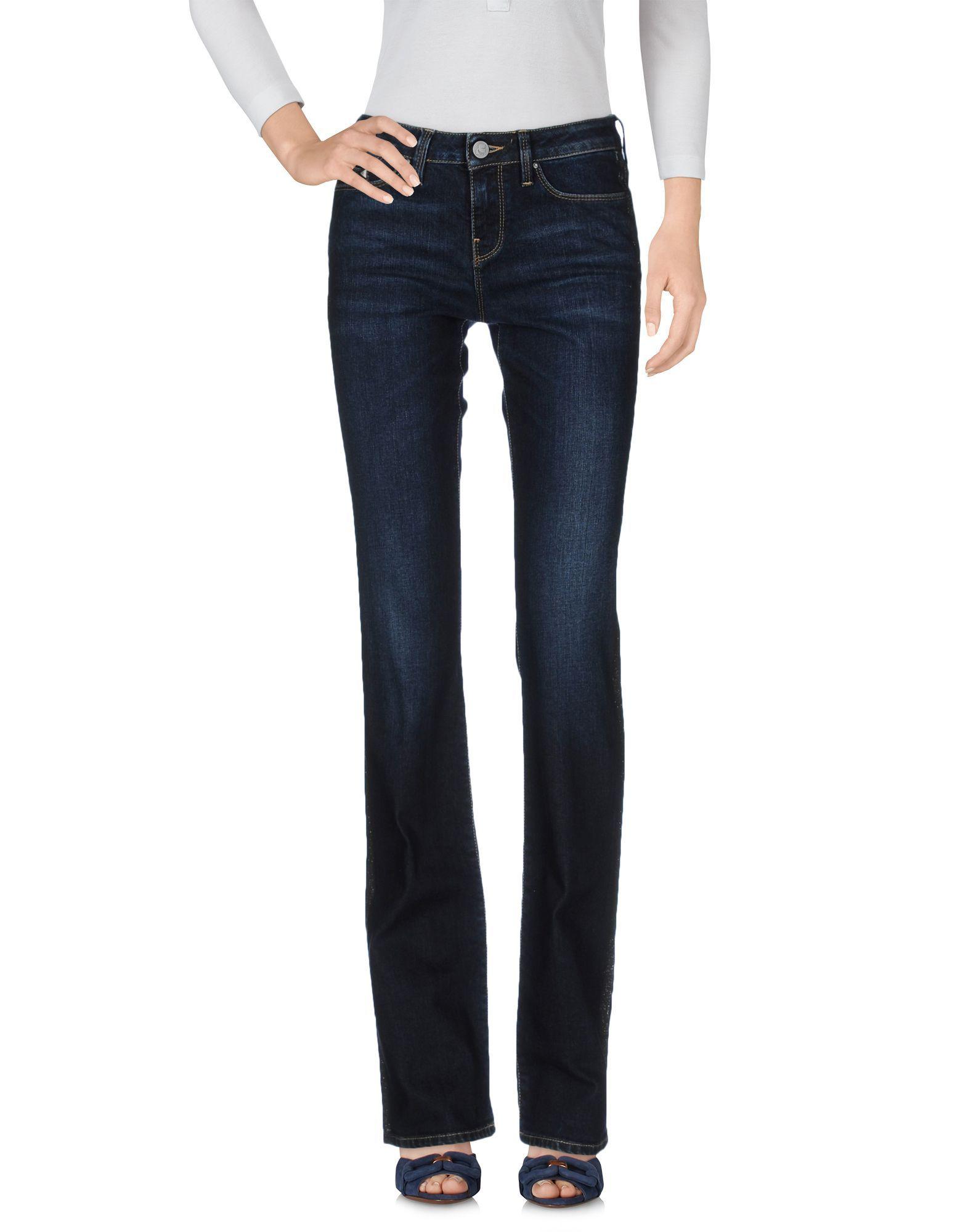 Karl Lagerfeld Blue Cotton Jeans