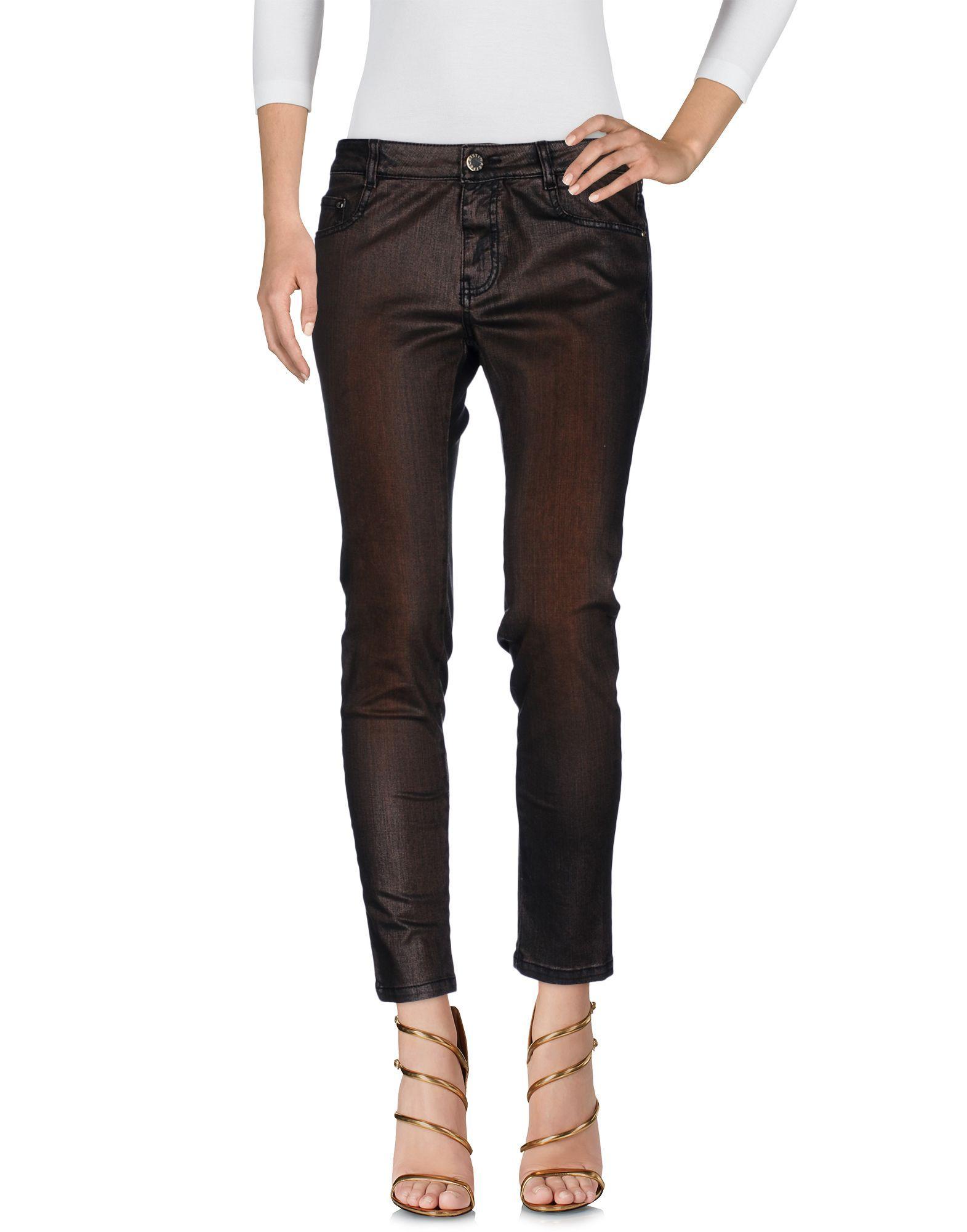 Cristinaeffe Bronze Cotton Jeans