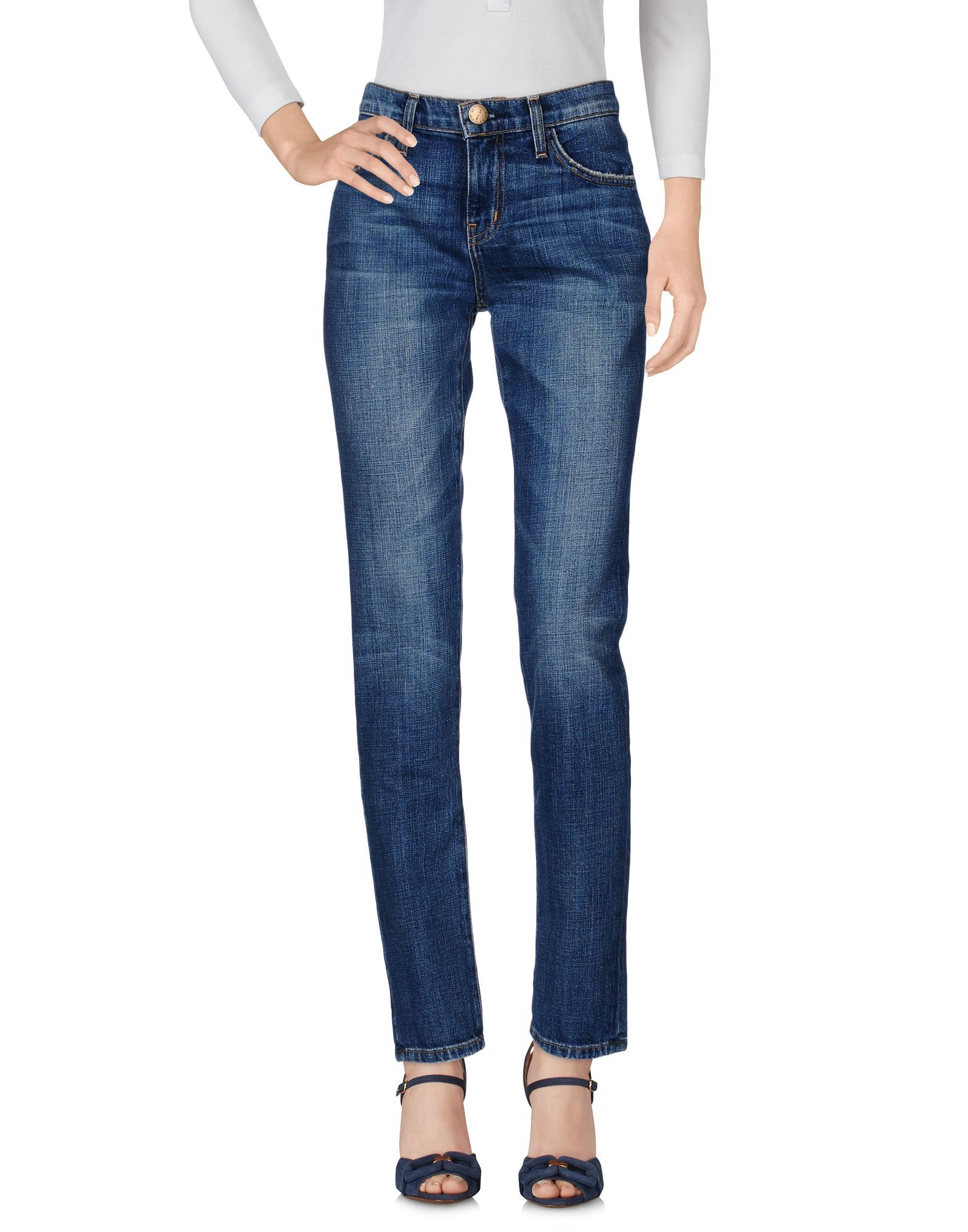 Current/Elliott Blue Cotton Jeans