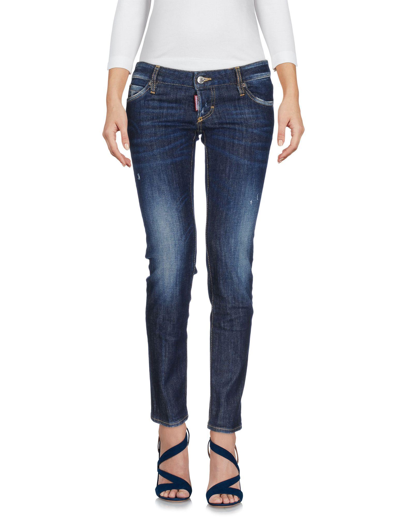 Dsquared2 Blue Cotton Jeans