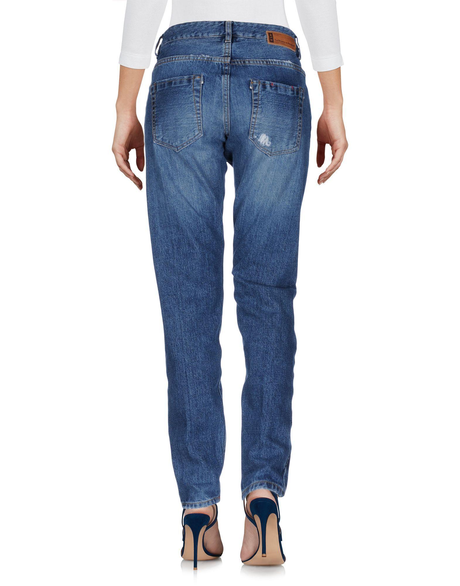 DENIM 2W2M Blue Woman Cotton