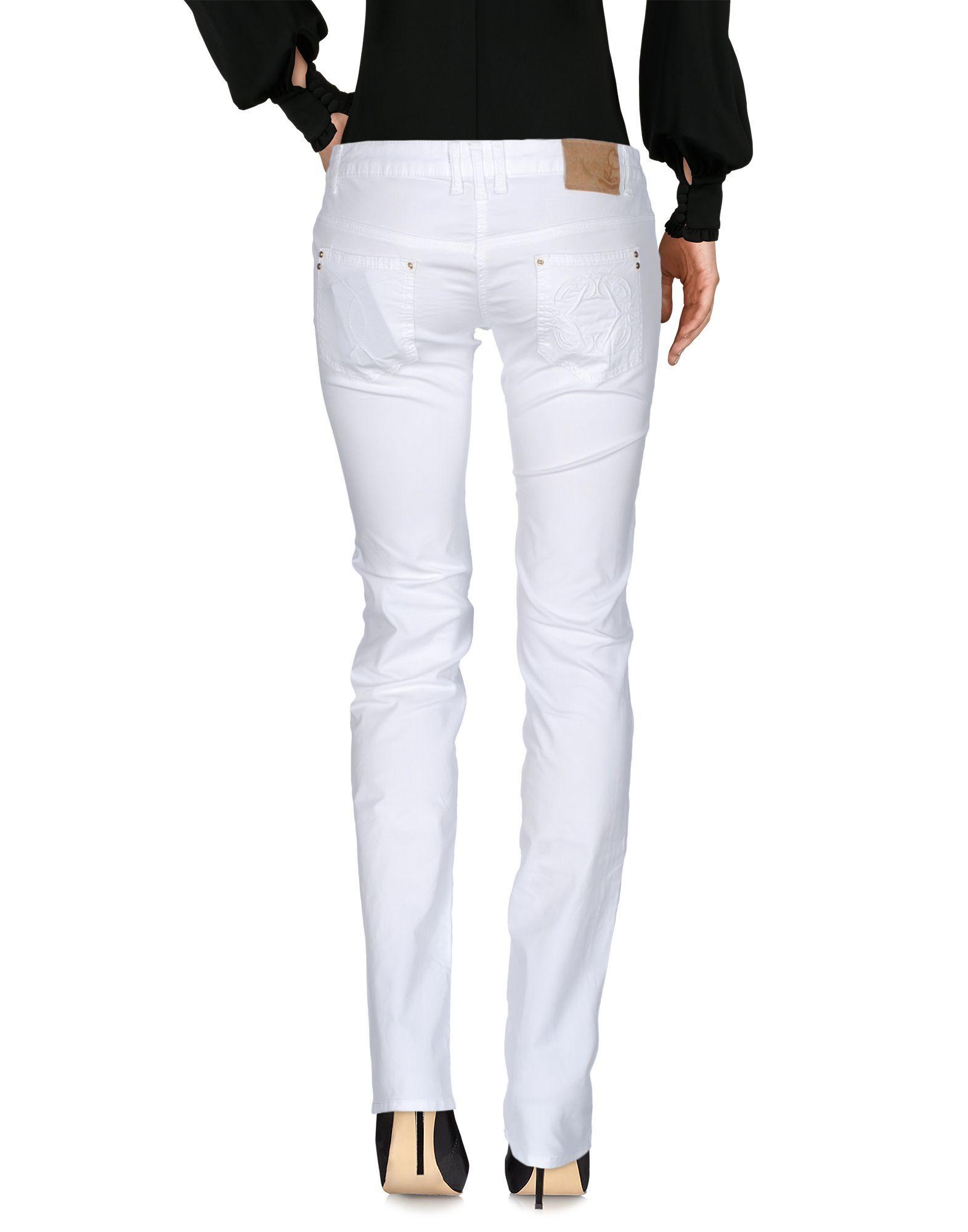 Patrizia Pepe White Cotton Trousers
