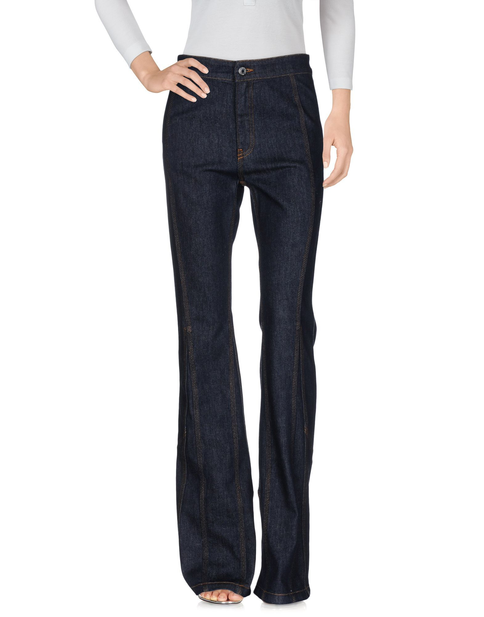 Givenchy Blue Cotton Dark Wash Jeans