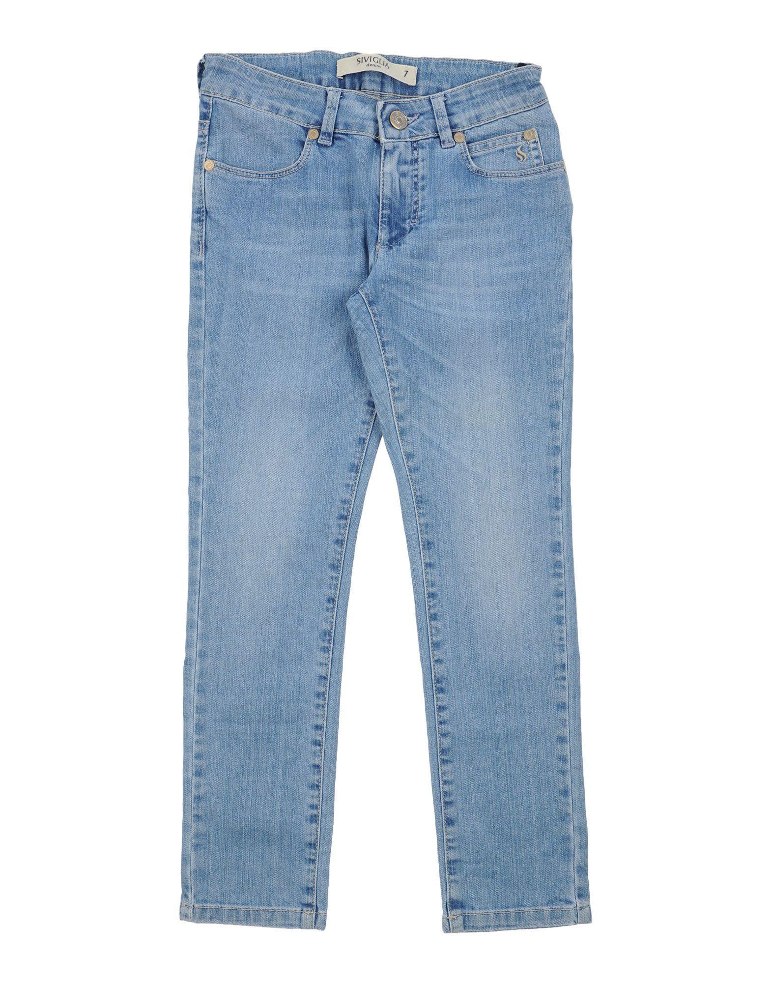 DENIM Siviglia Blue Girl Cotton