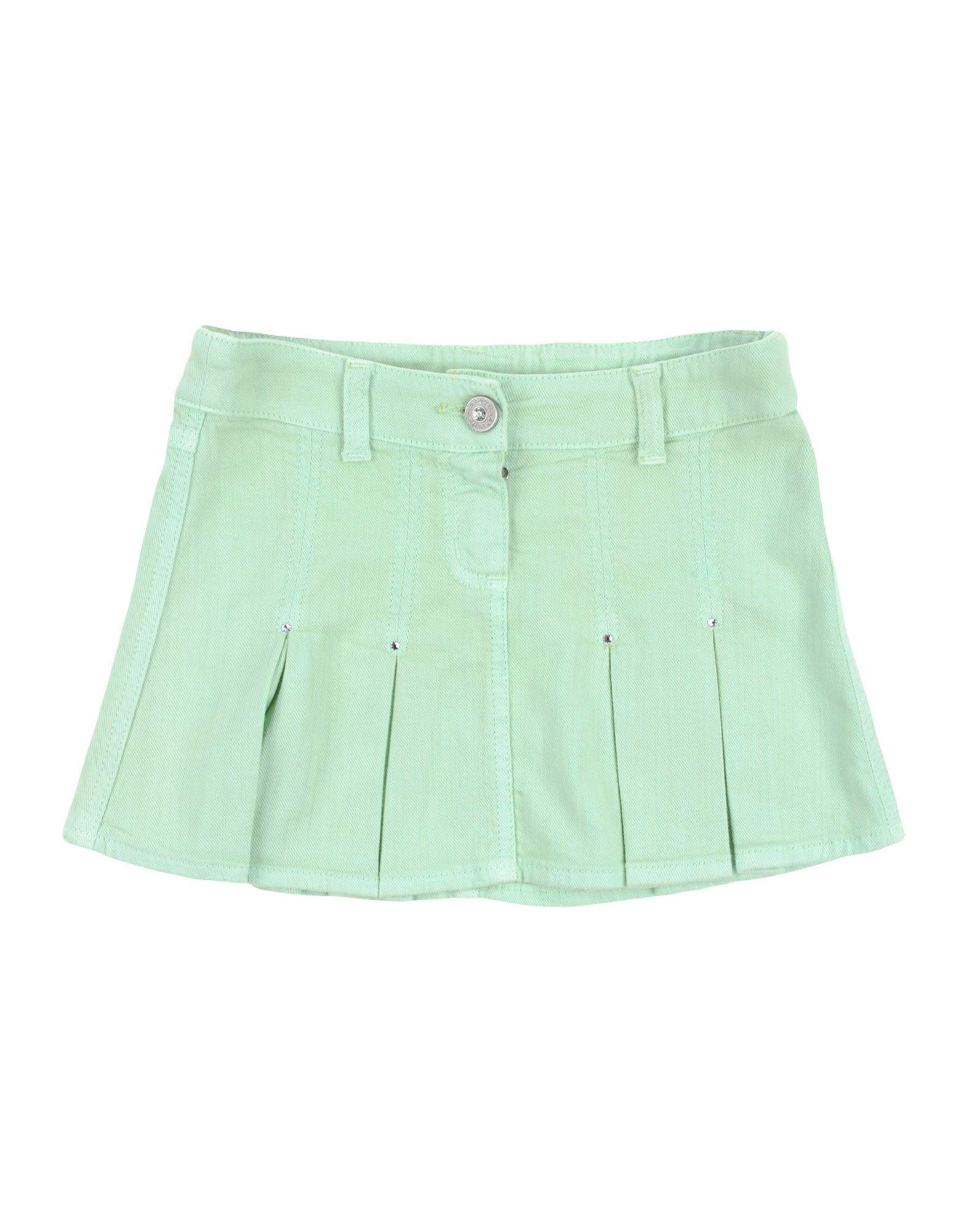 DENIM Miss Blumarine Light green Girl Cotton