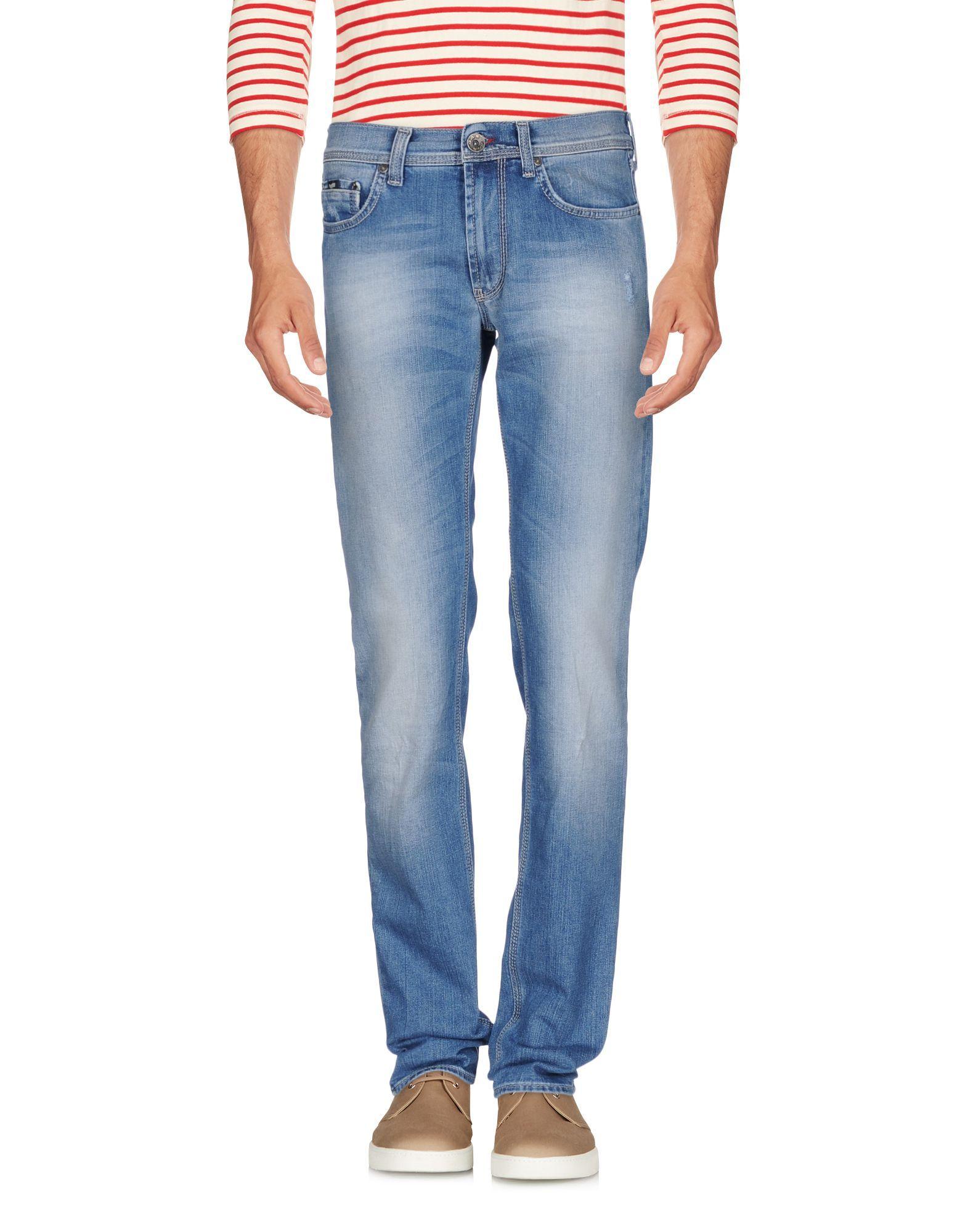 Gas Blue Cotton Jeans