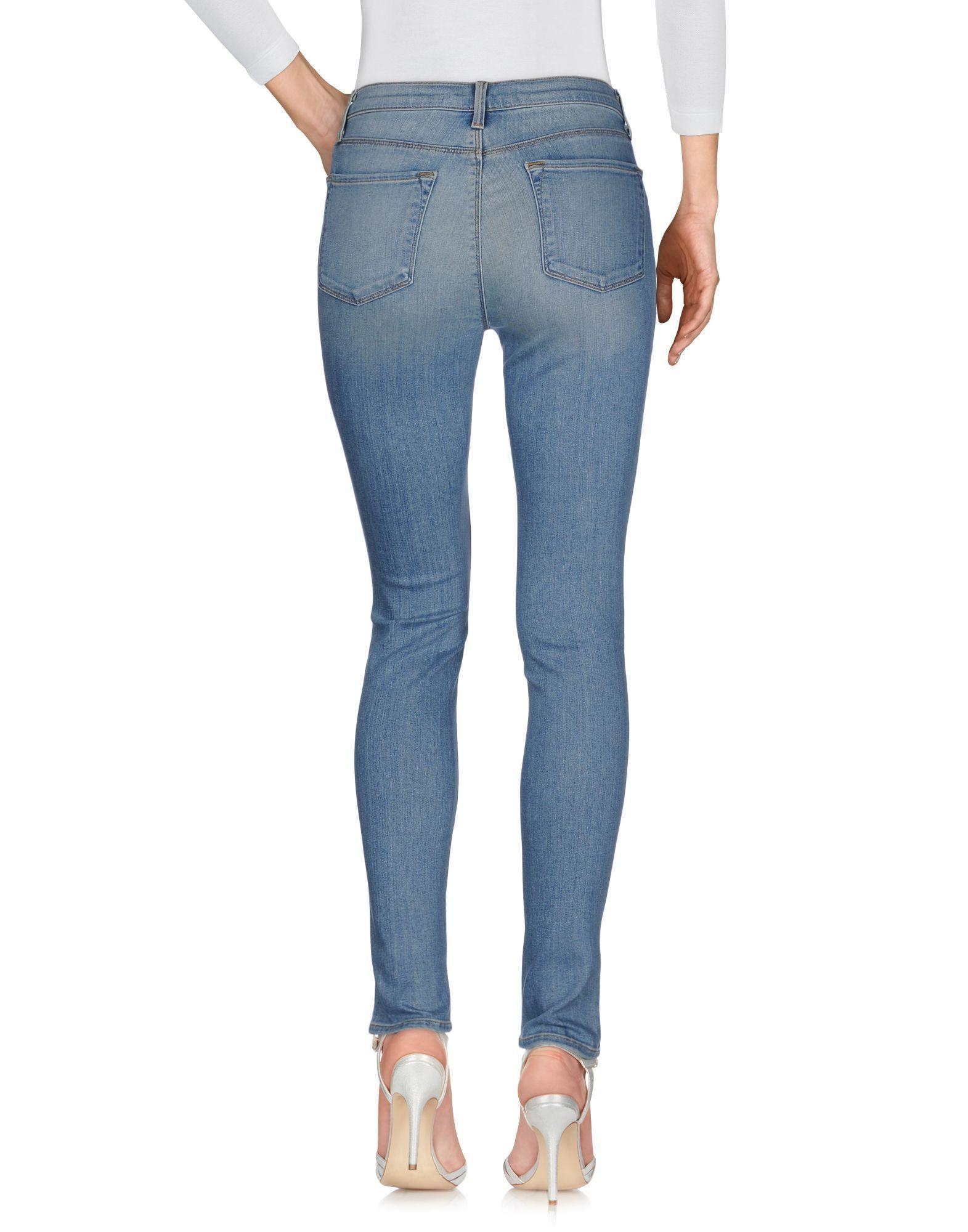J Brand Blue Skinny Jeans