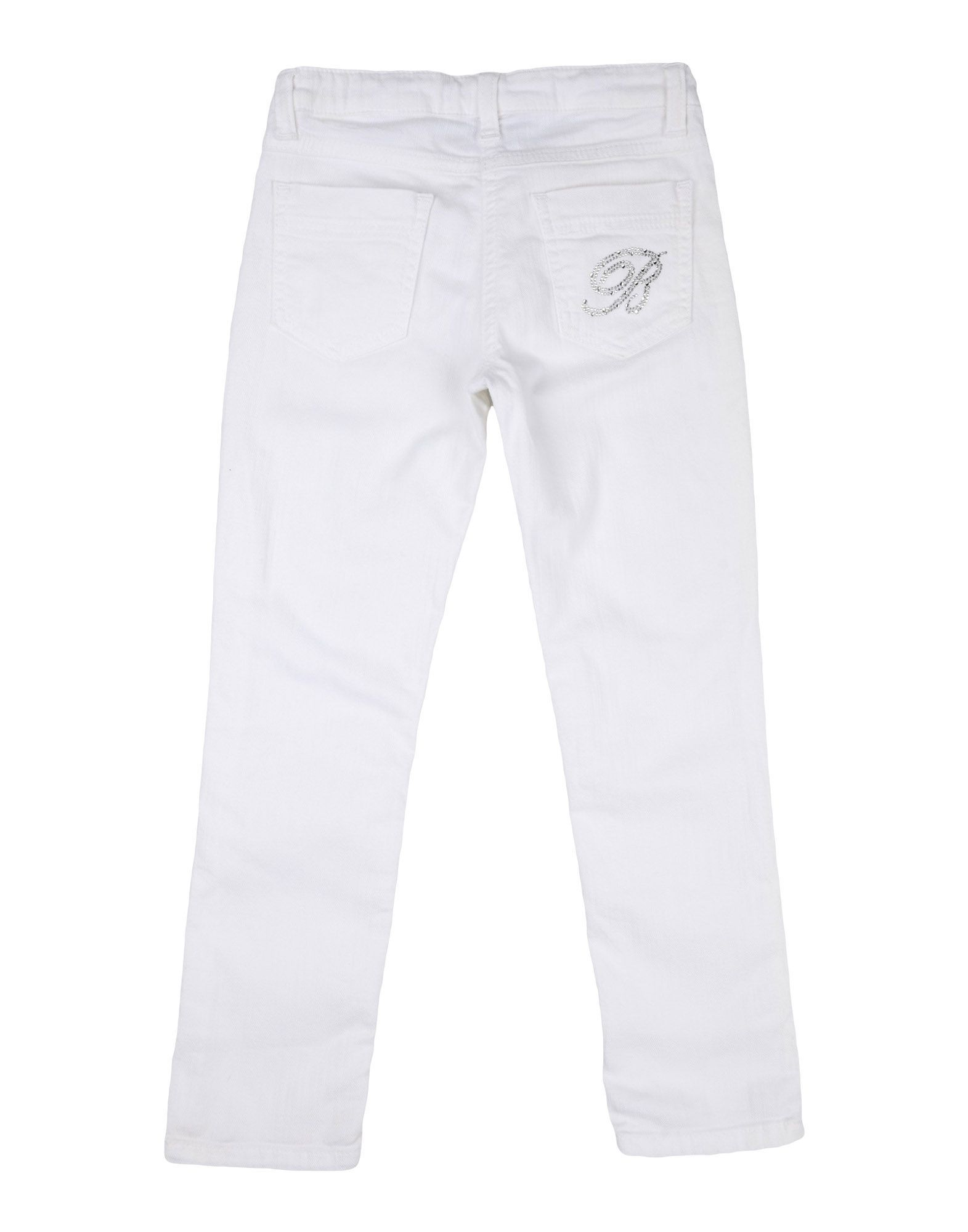 DENIM Miss Blumarine White Girl Cotton
