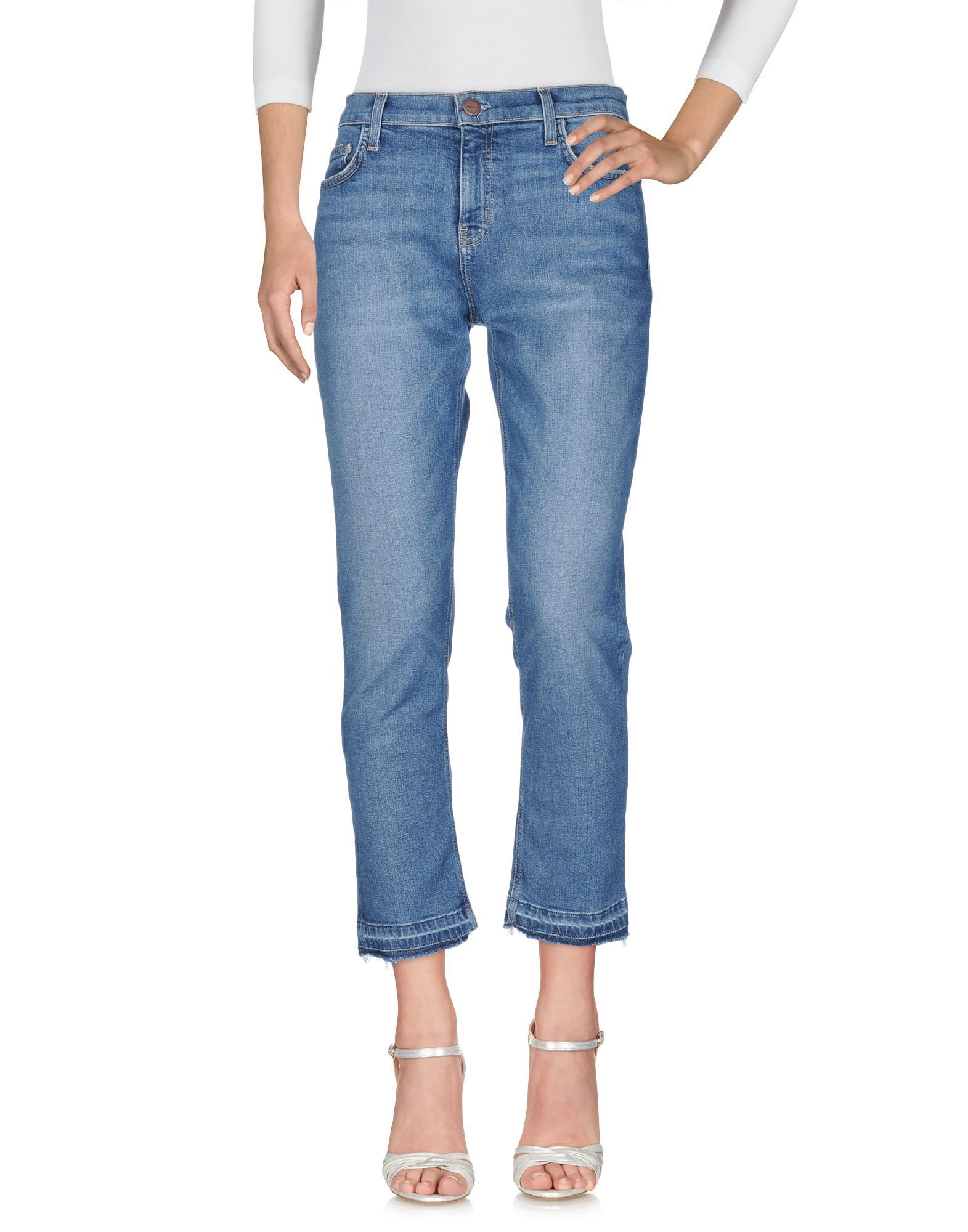 DENIM Current/Elliott Blue Woman Cotton