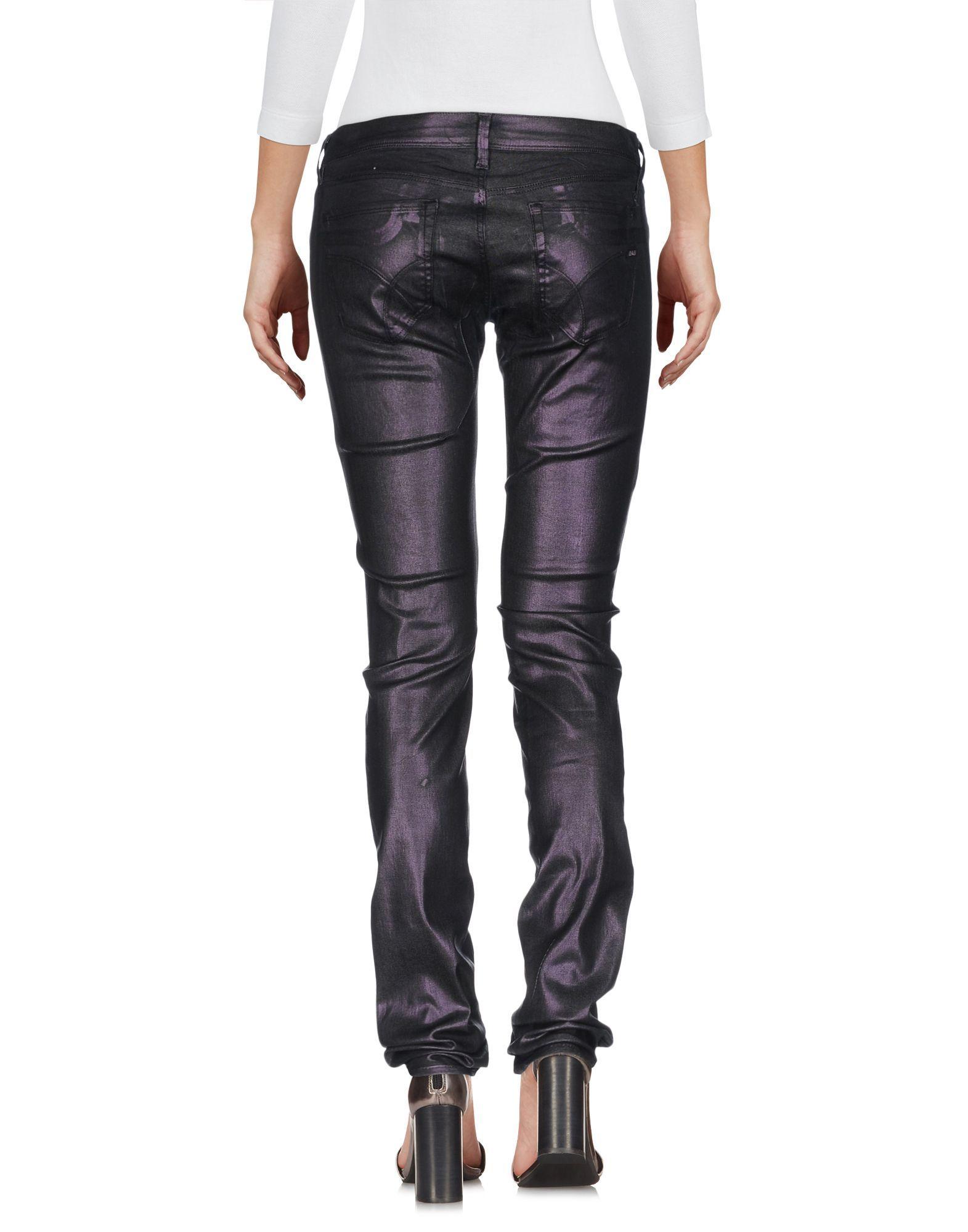 Denim Gas Dark Purple Women's Cotton