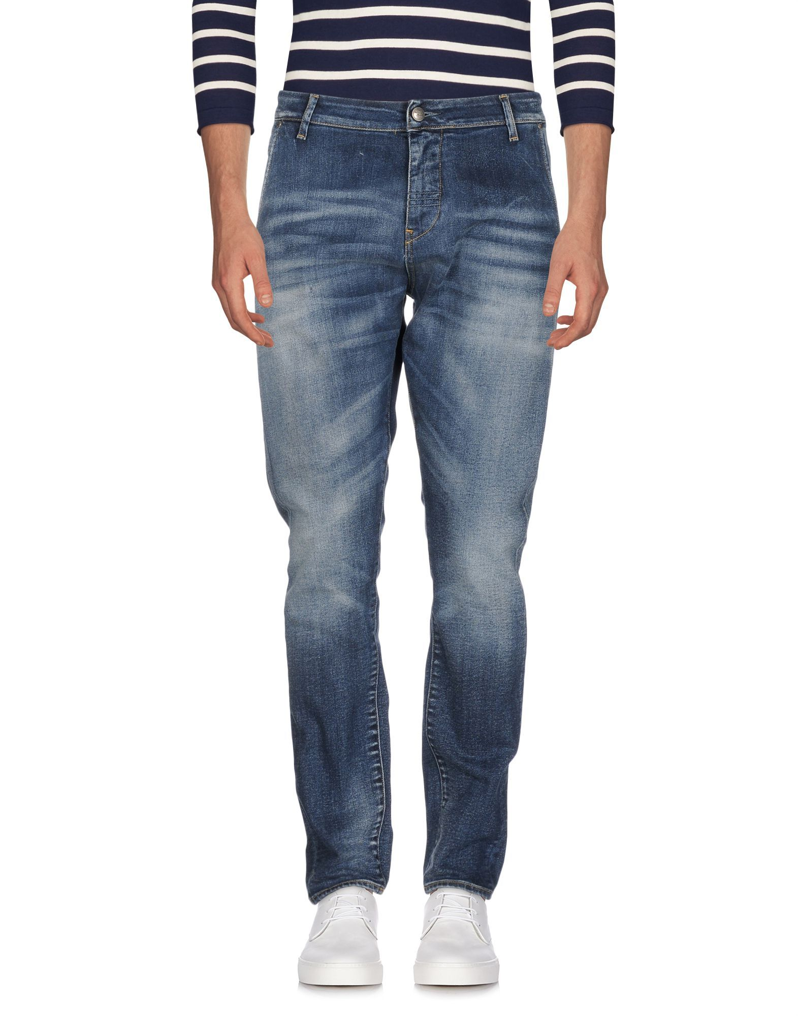 Meltin Pot Blue Cotton Jeans