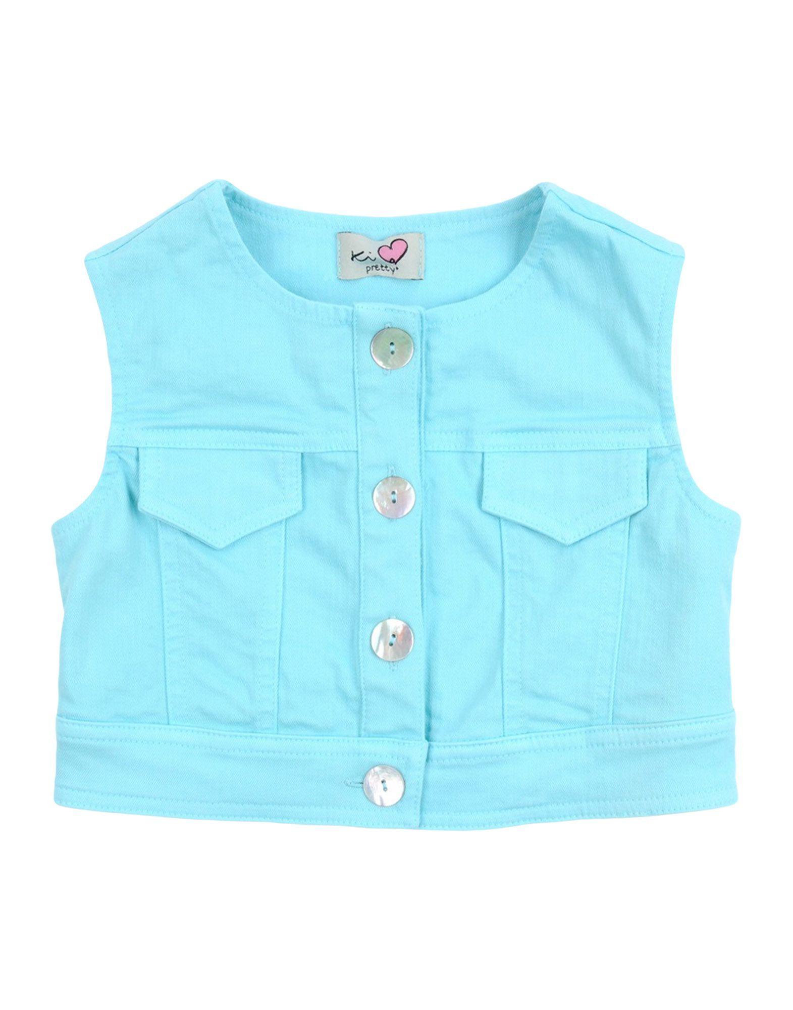 DENIM Ki6? Pretty Turquoise Girl Cotton