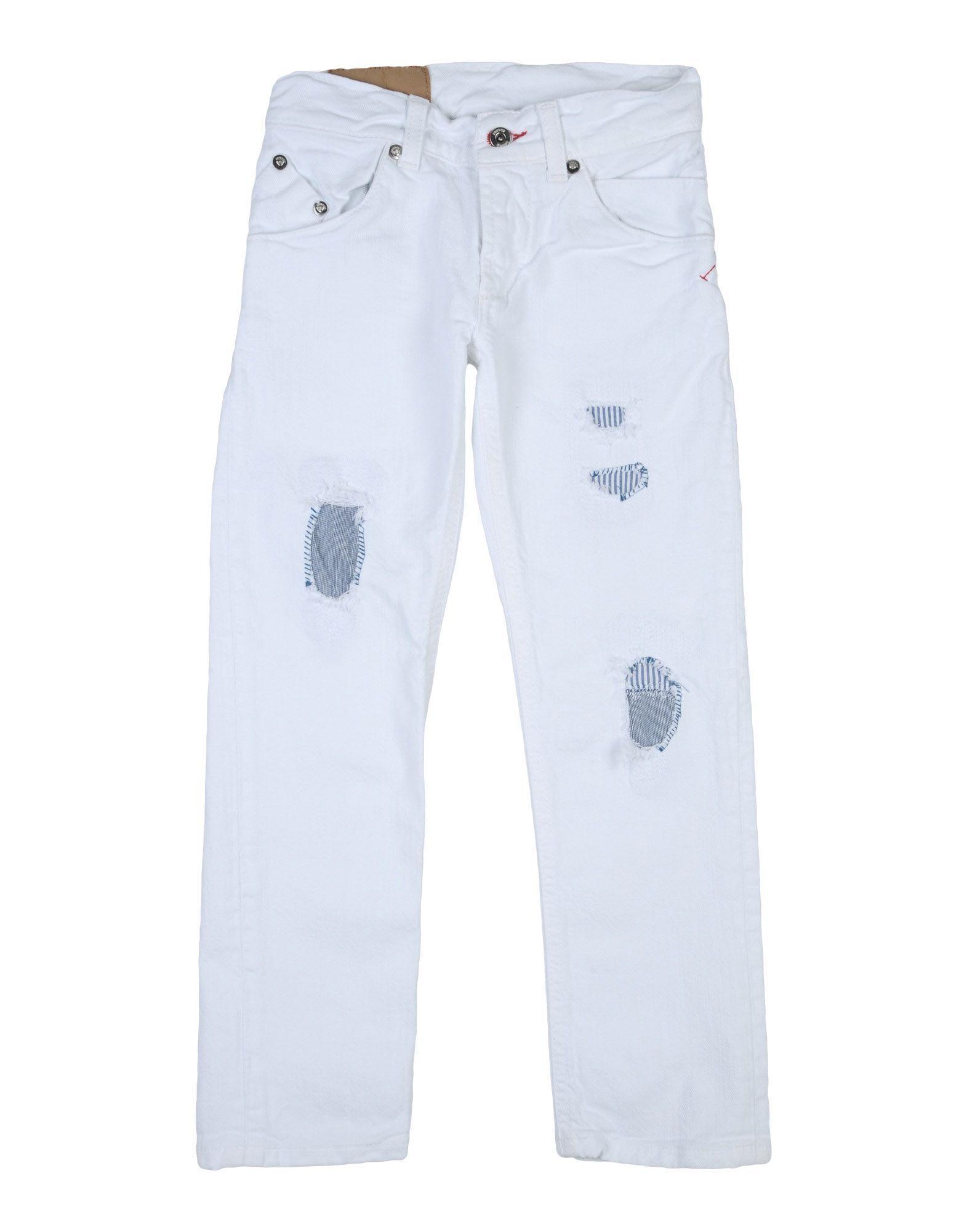 DENIM Dondup White Boy Cotton
