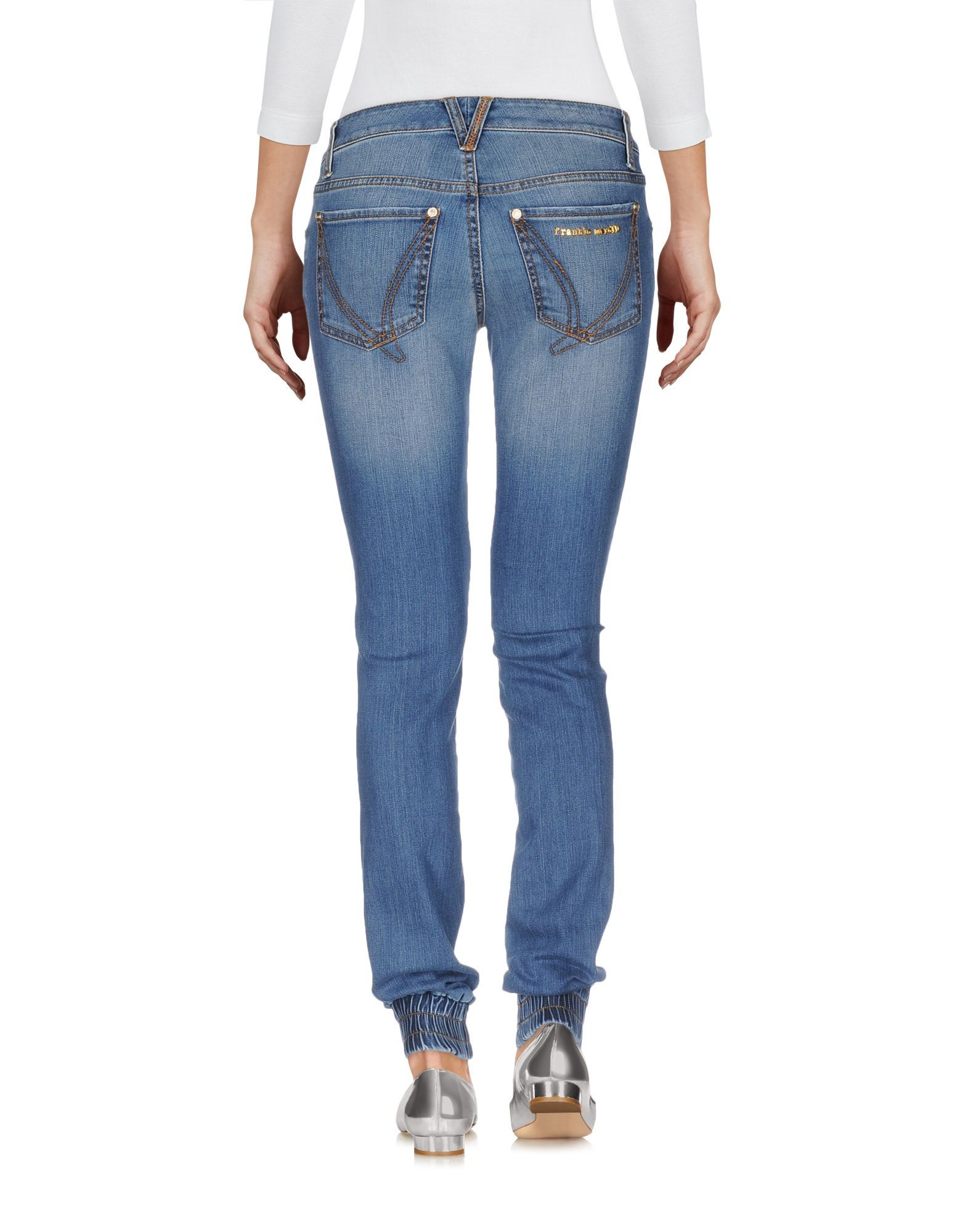 Denim Frankie Morello Blue Women's Cotton