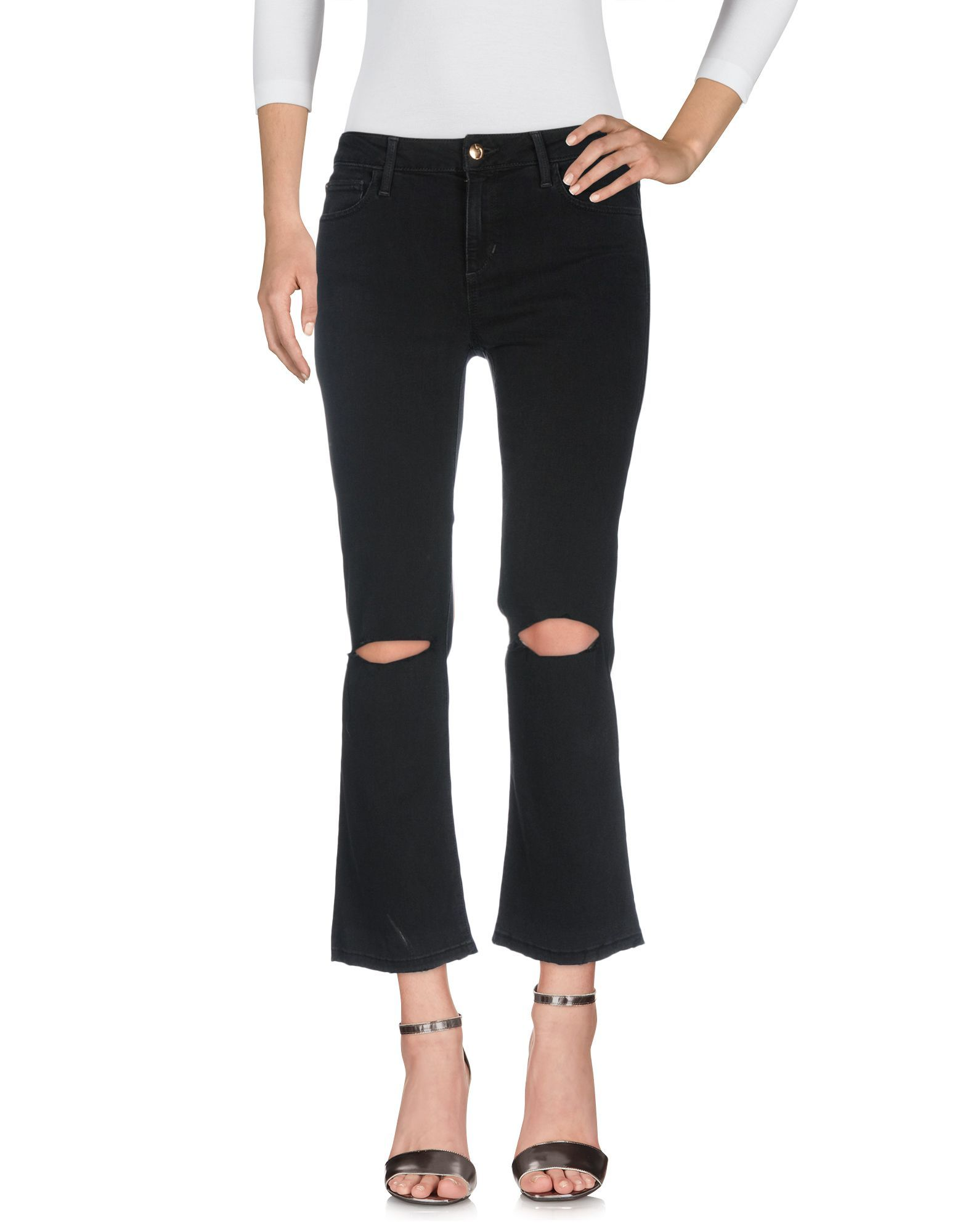 DENIM Joe'S Jeans Black Woman Rayon