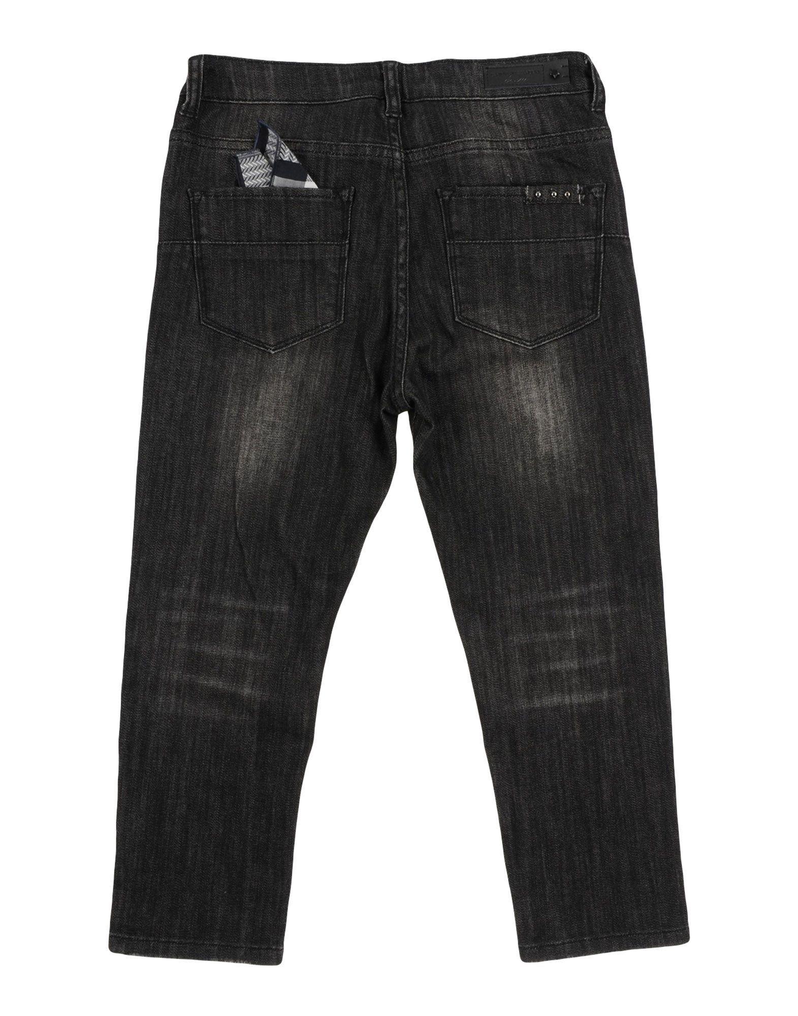 Daniele Alessandrini Boy Denim trousers Black Cotton