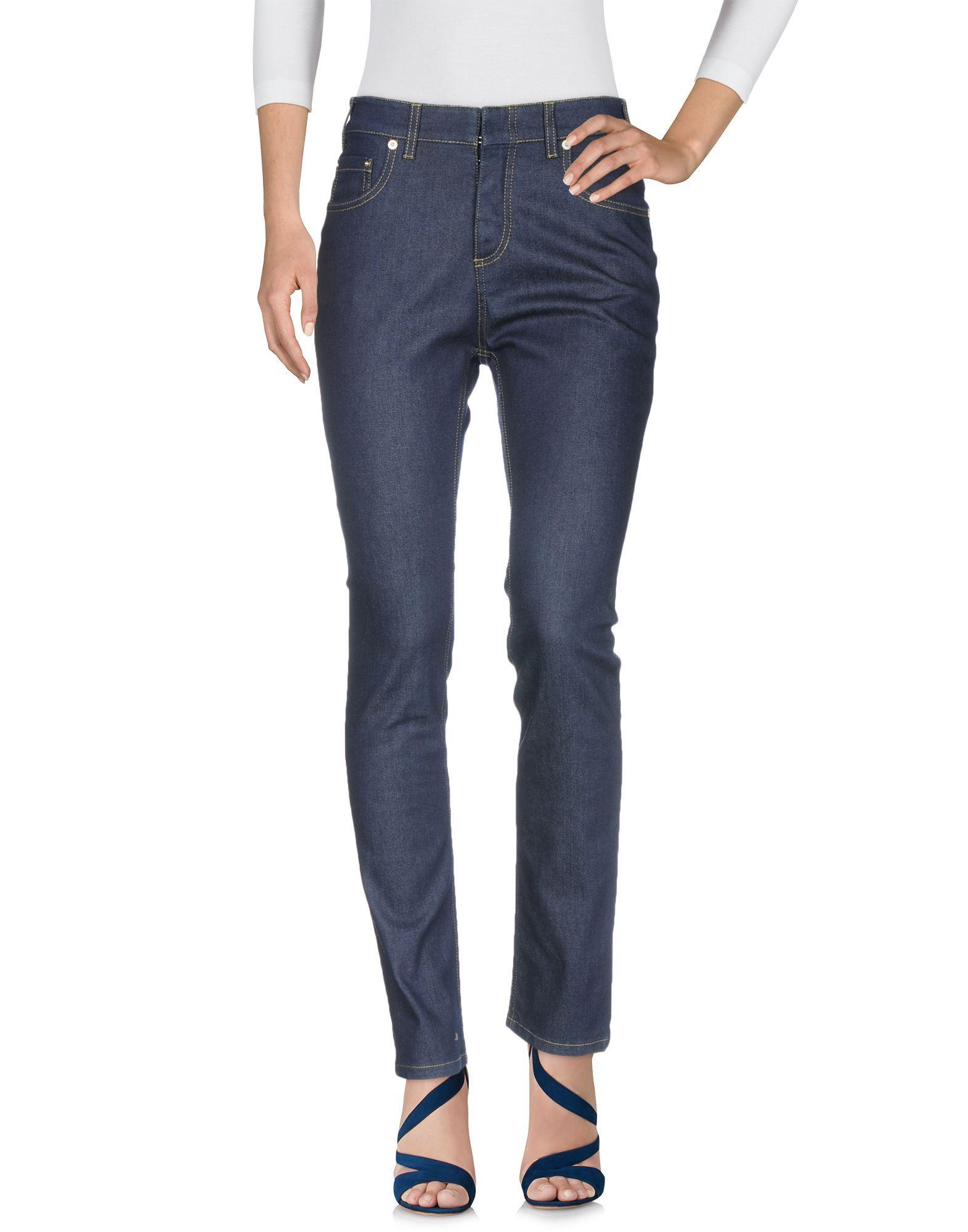 Philosophy Di Lorenzo Serafini Blue Cotton Jeans