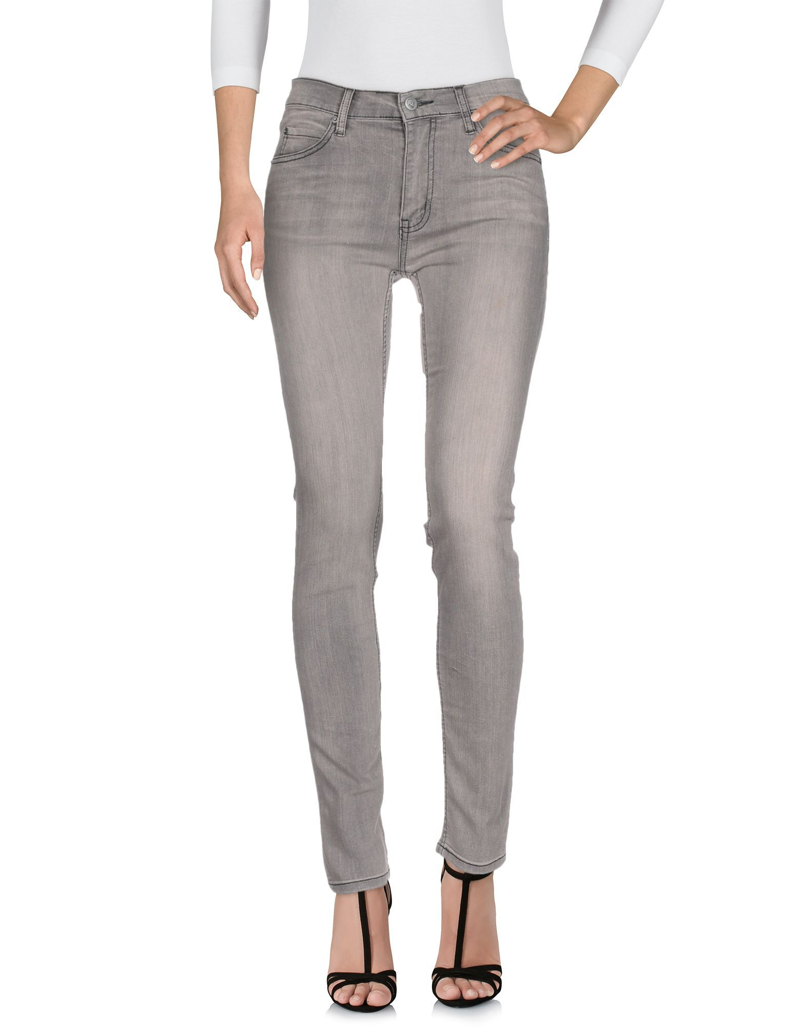 Cheap Monday Grey Cotton Jeans