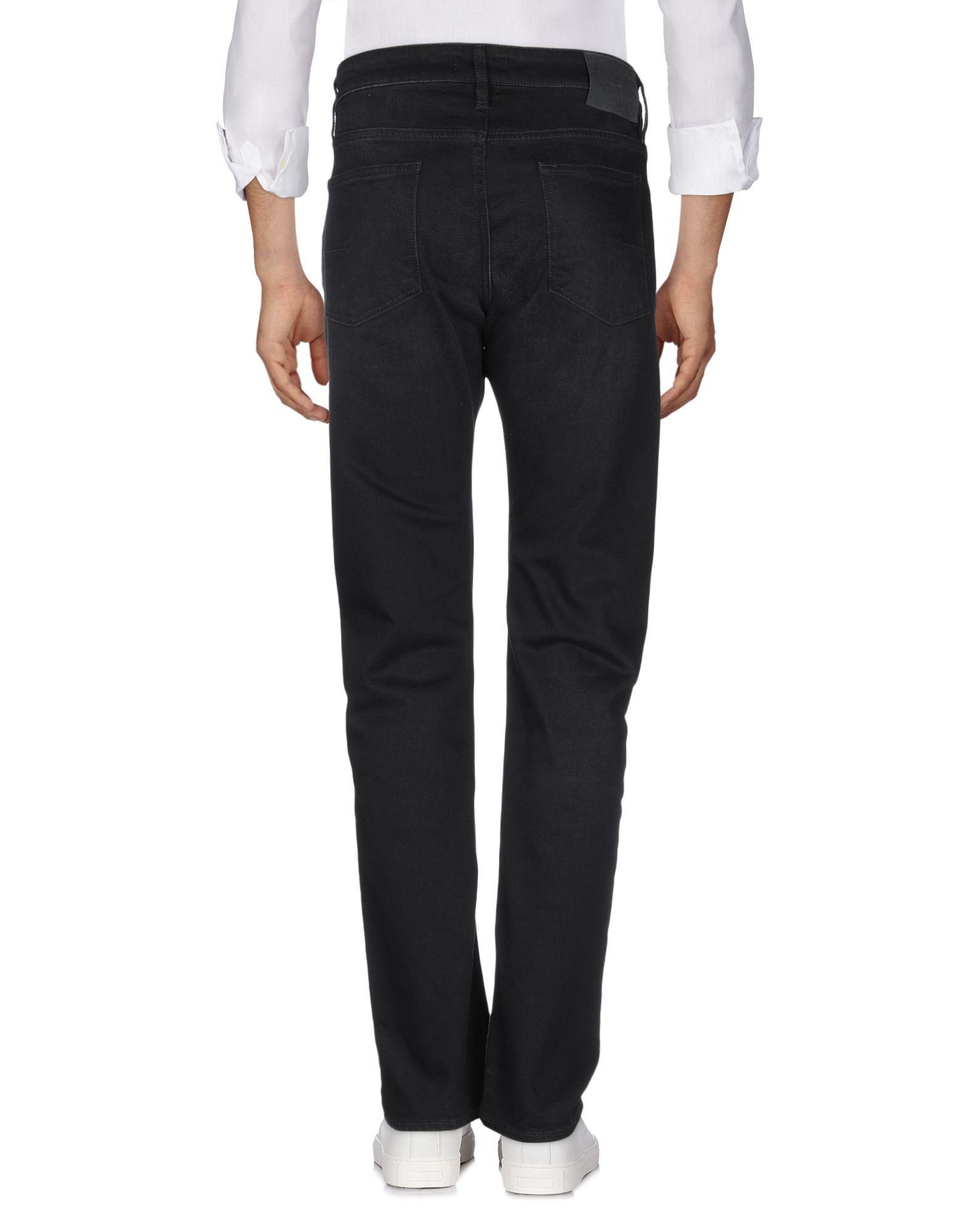 Mauro Grifoni Black Cotton Straight Leg Jeans