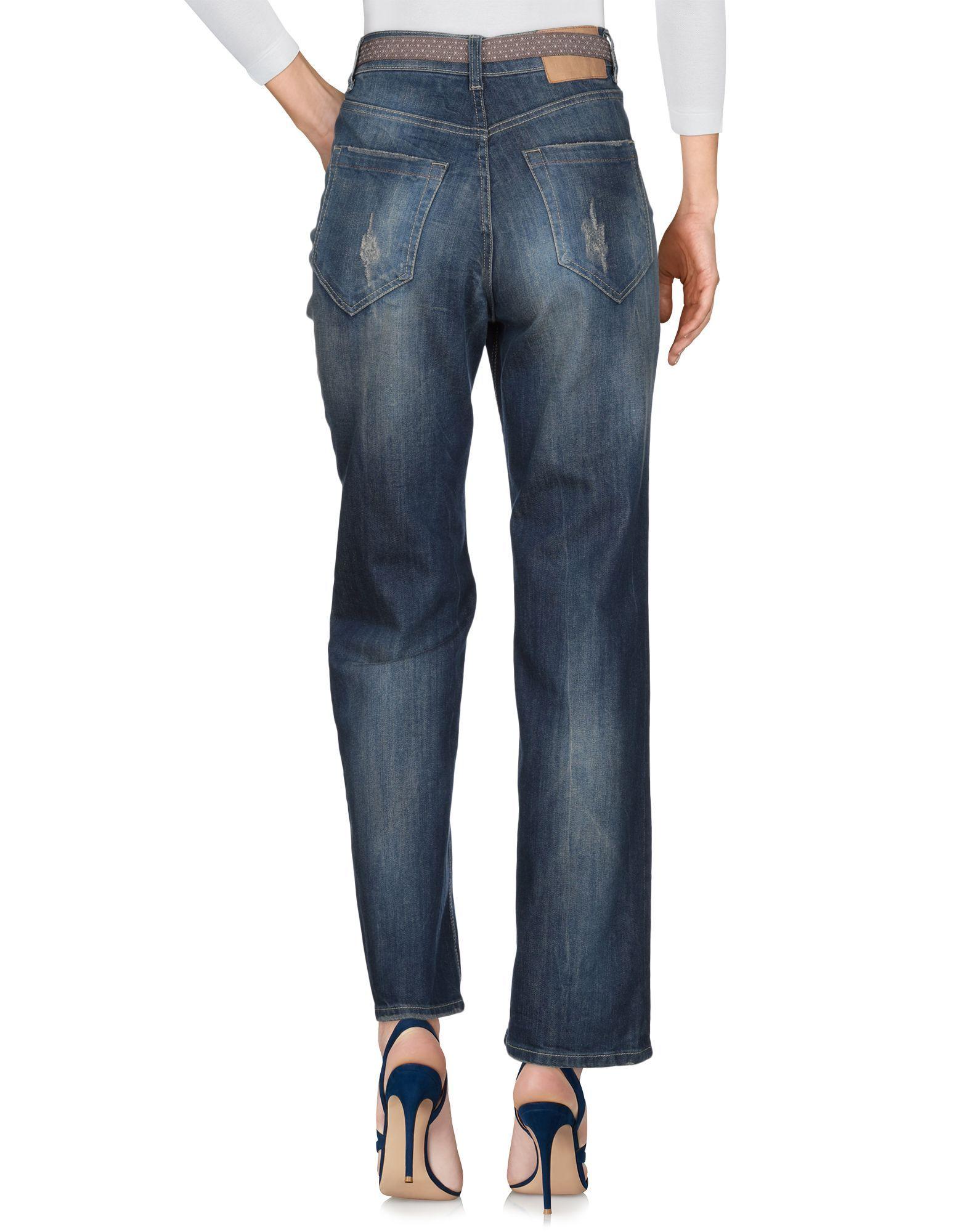 Vicolo Blue Cotton Jeans