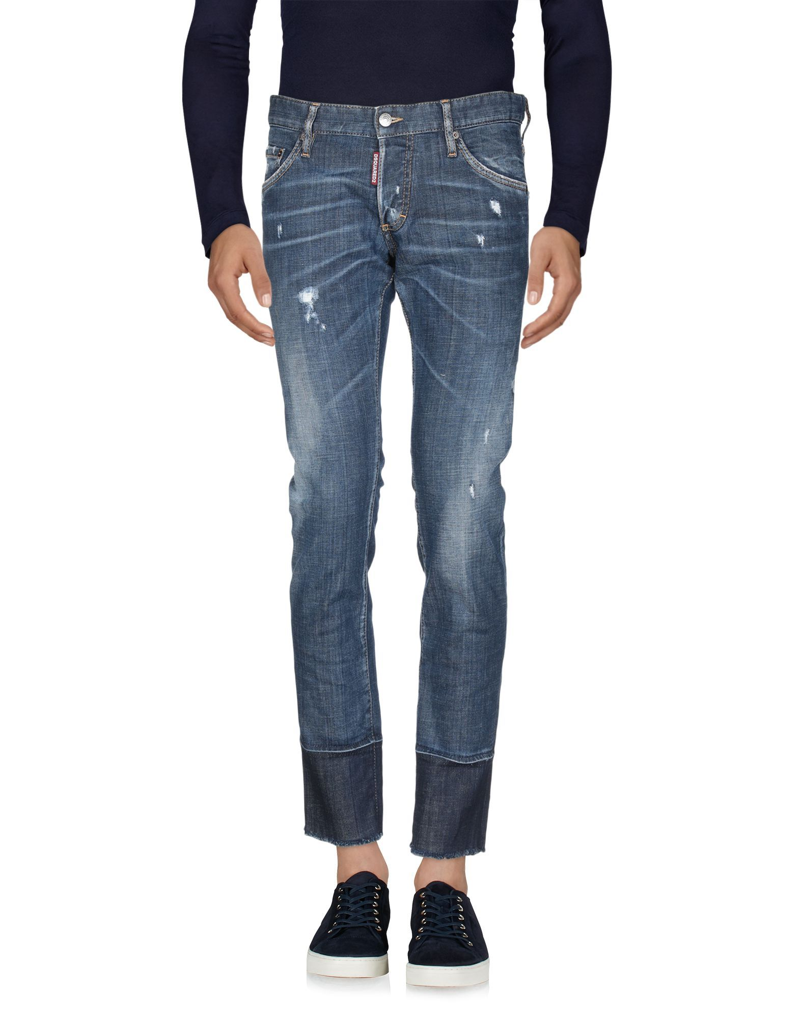 Dsquared2 Blue Cotton Jeans