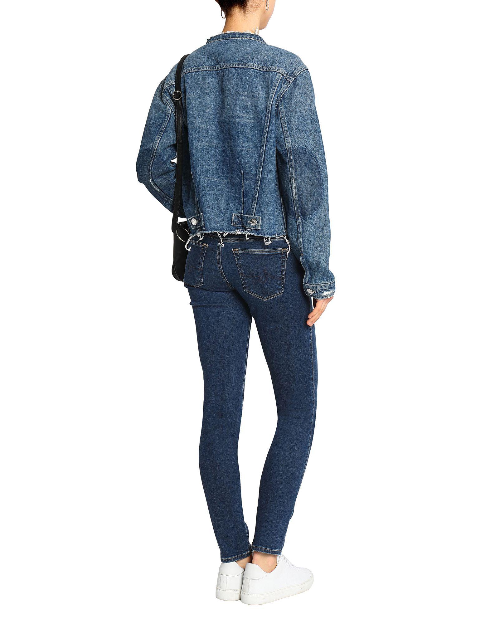 Ag Jeans Blue Cotton Jeans