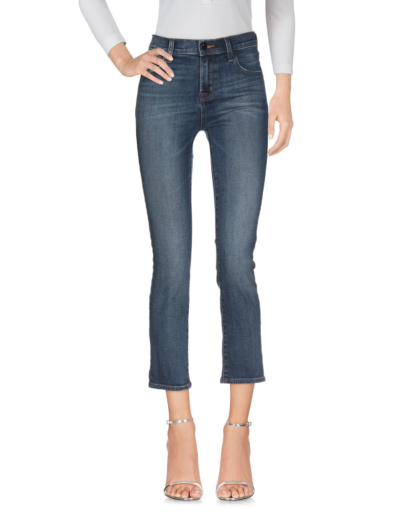 J Brand Blue Cotton Jeans