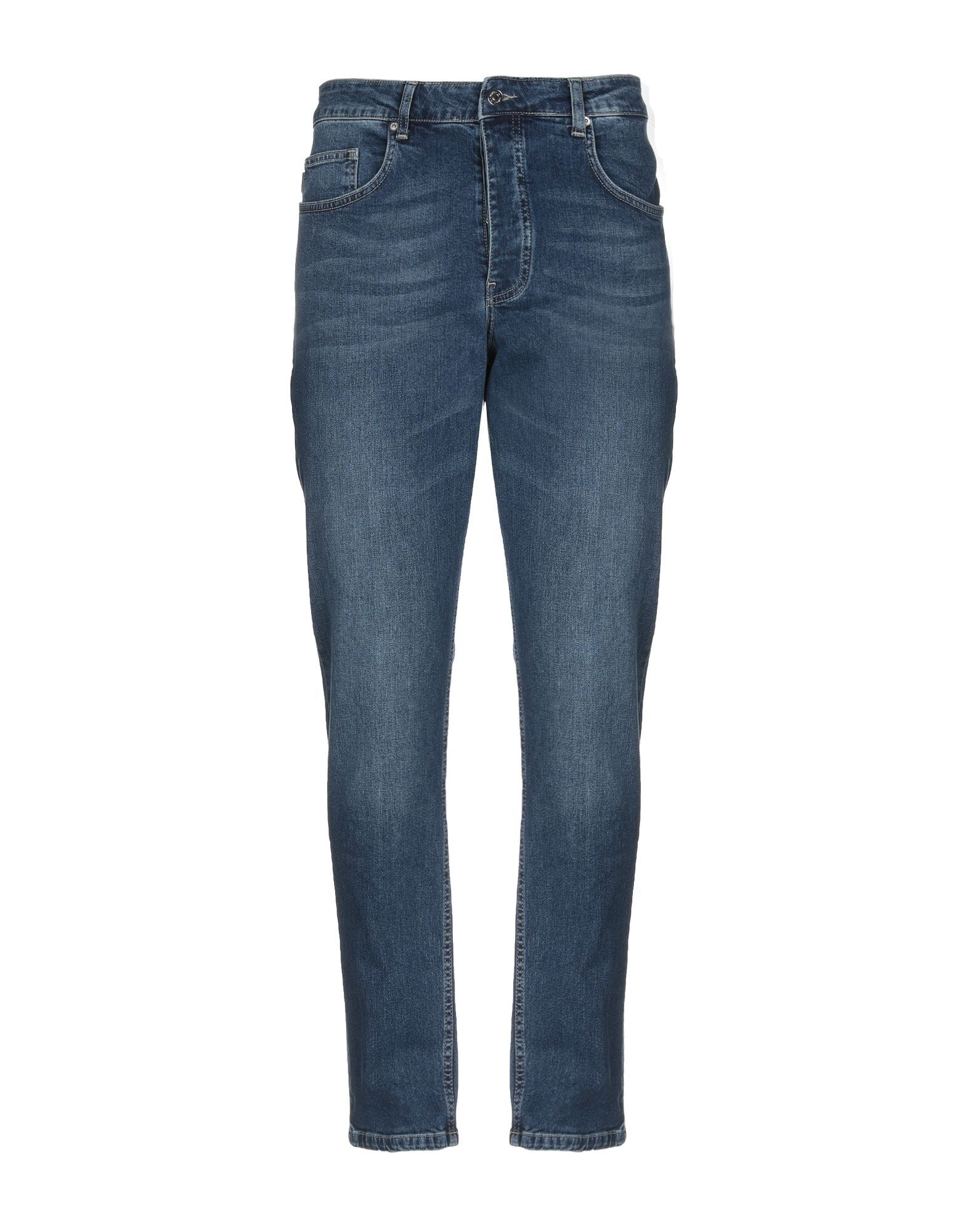 Minimum Blue Cotton Mid Rise Jeans