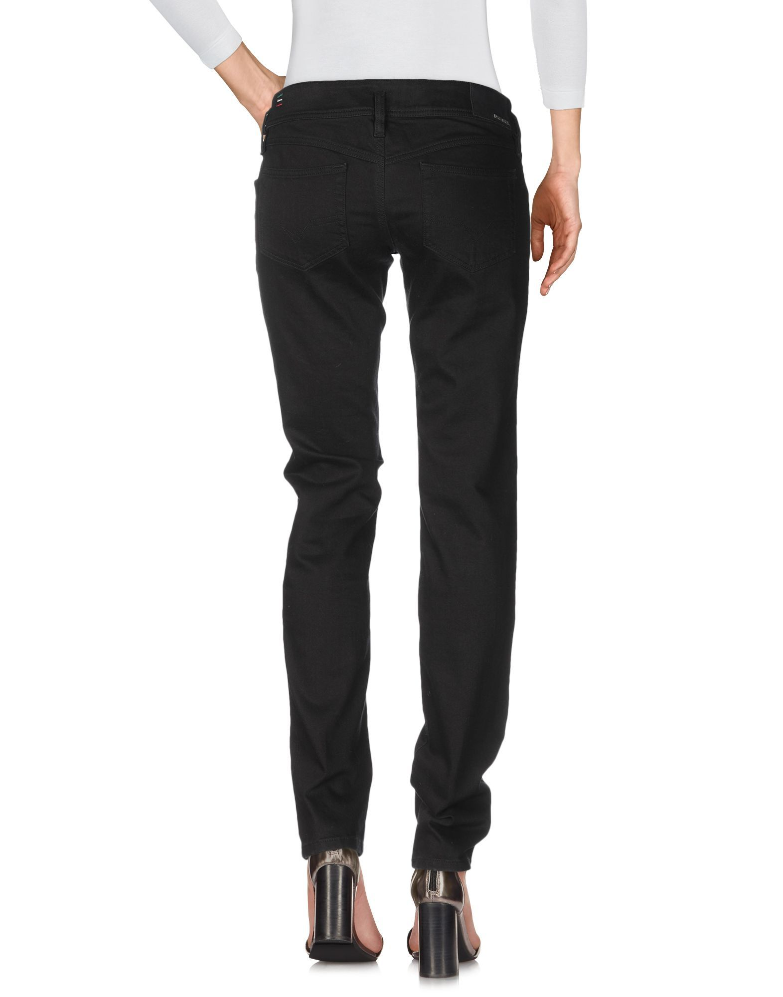 Diesel Black Cotton Jeans
