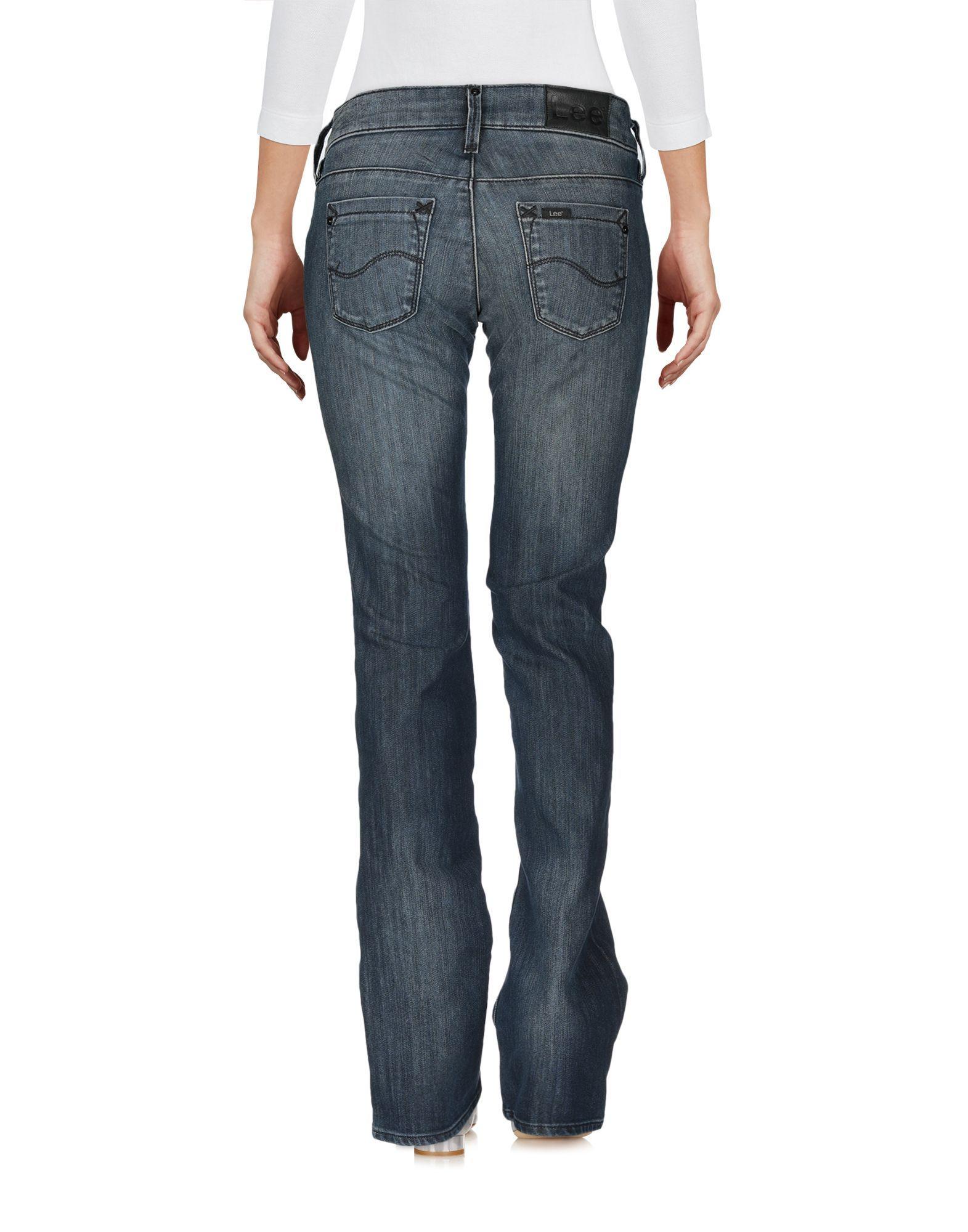 Lee Blue Cotton Jeans