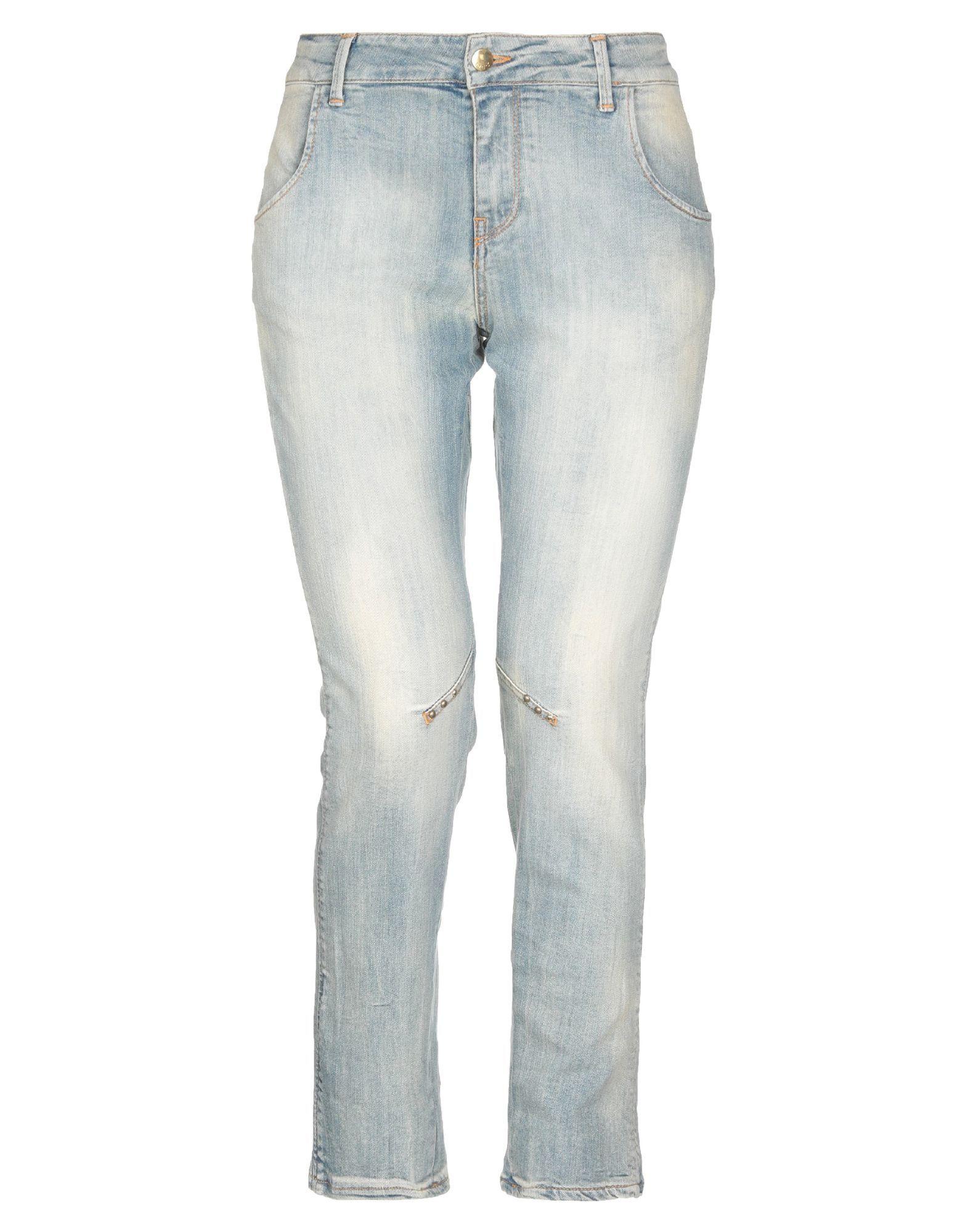 DENIM Woman Met Jeans Blue Cotton