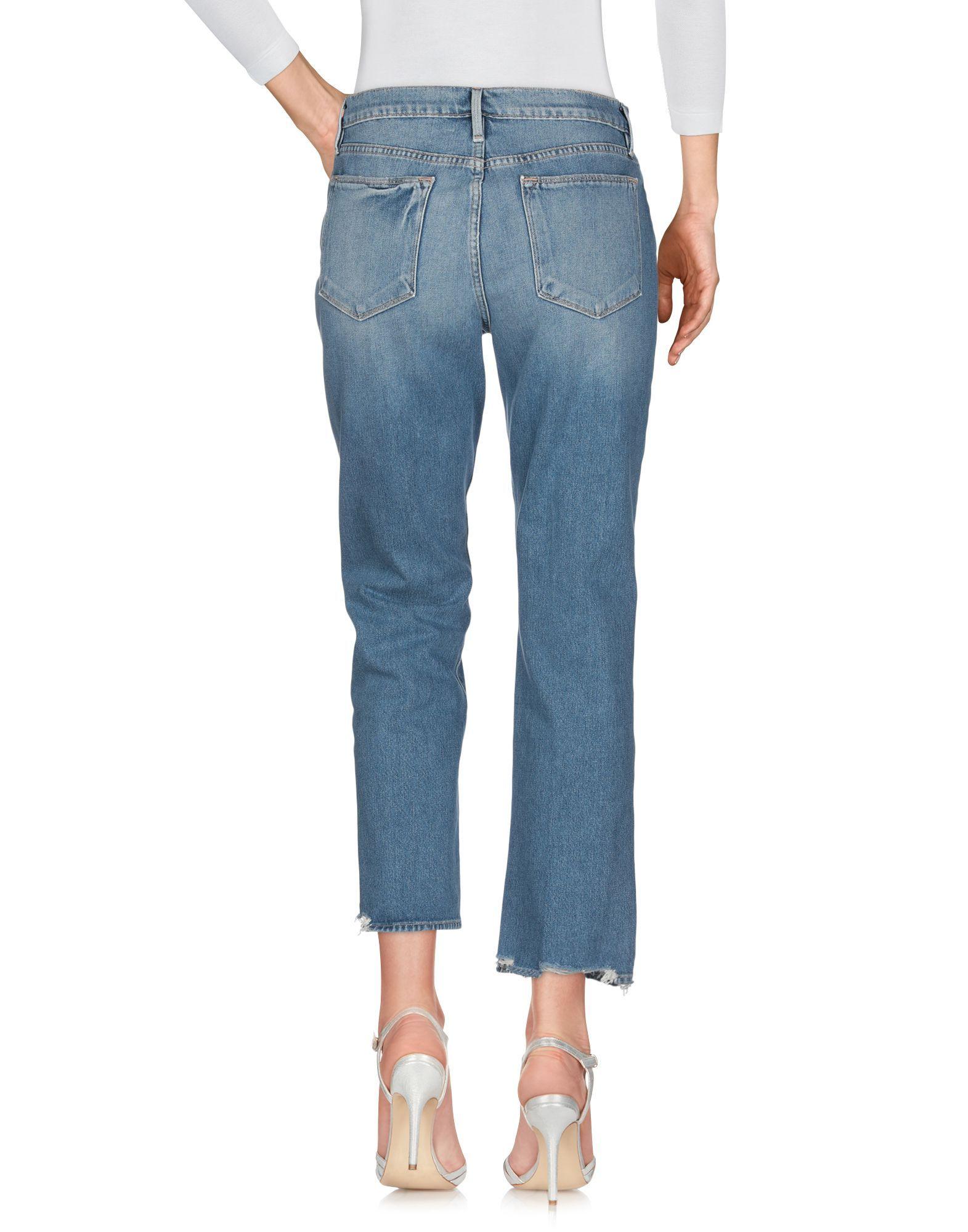 Frame Blue Cotton Jeans