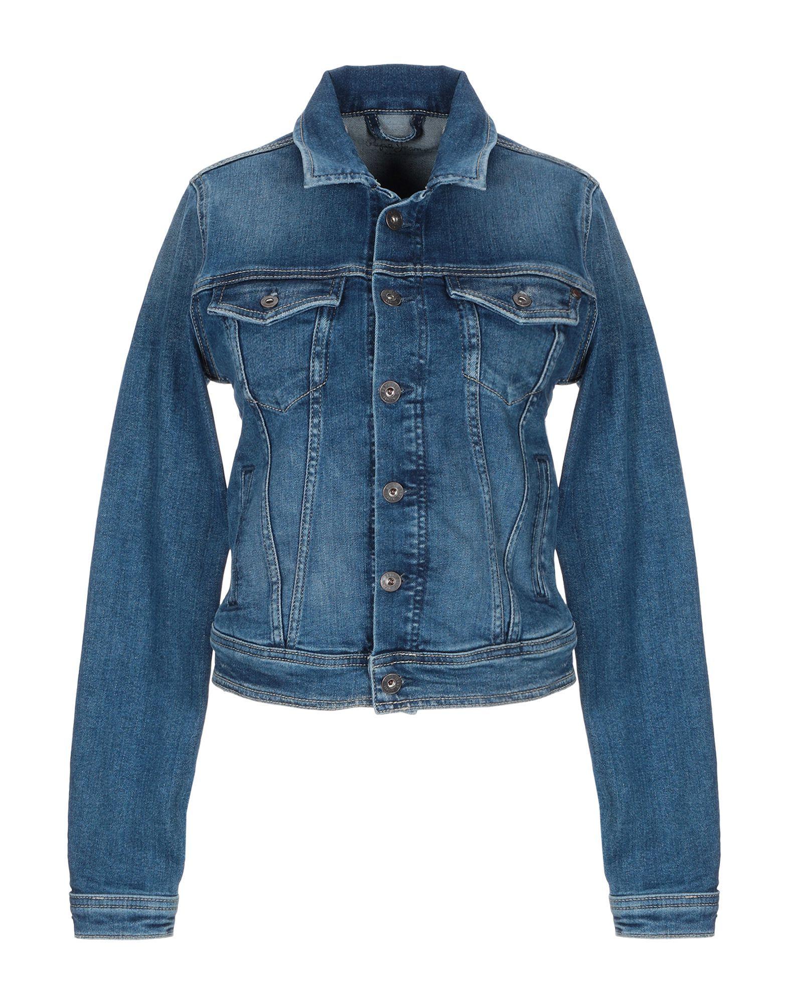DENIM Woman Pepe Jeans Blue Cotton