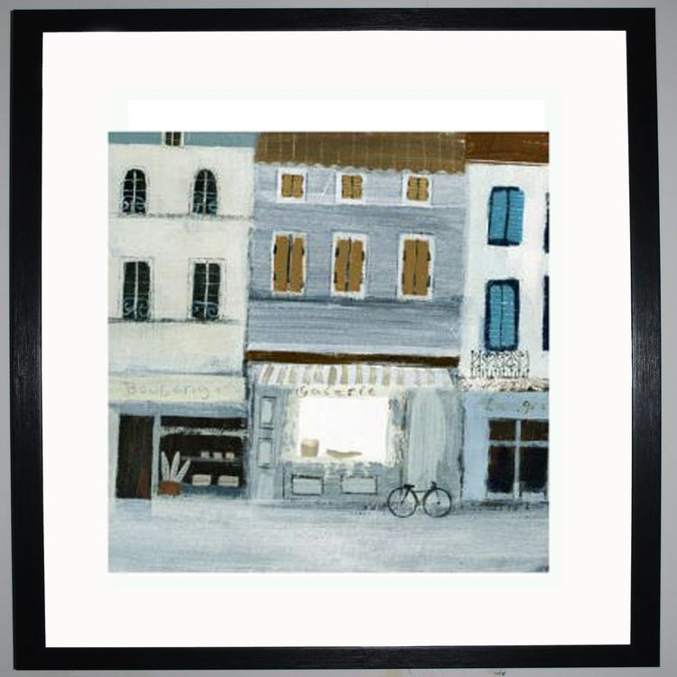 French Street Art Print by Hannah Cole