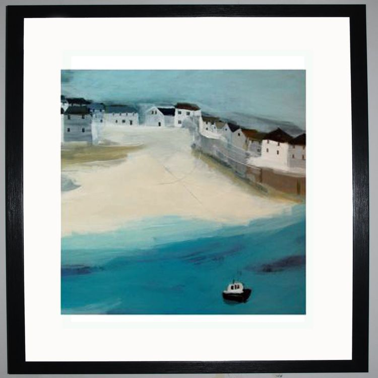 Port Isaac Art Print by Hannah Cole