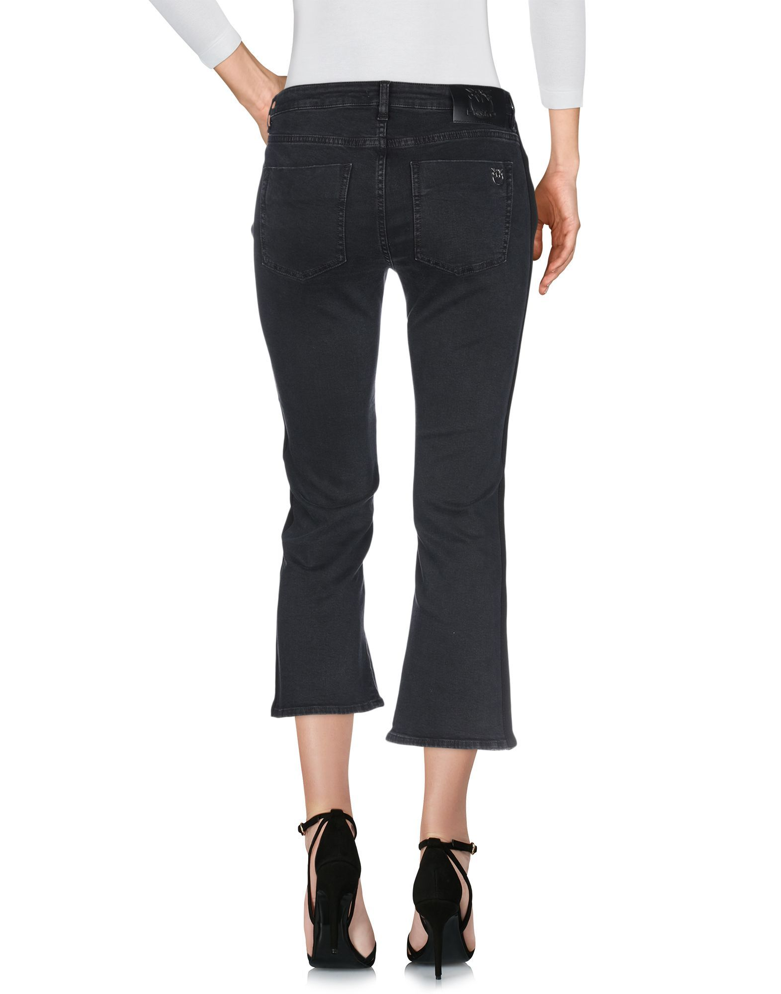 Pinko Black Cotton Jeans