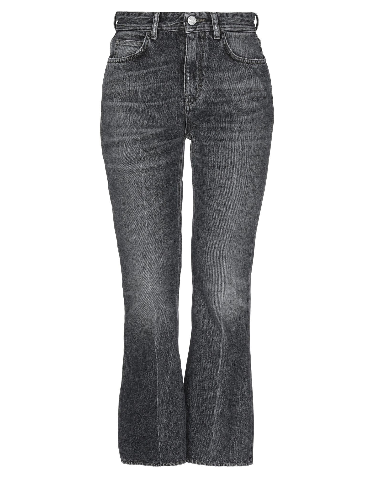 Haikure Black Cotton High Waisted Jeans