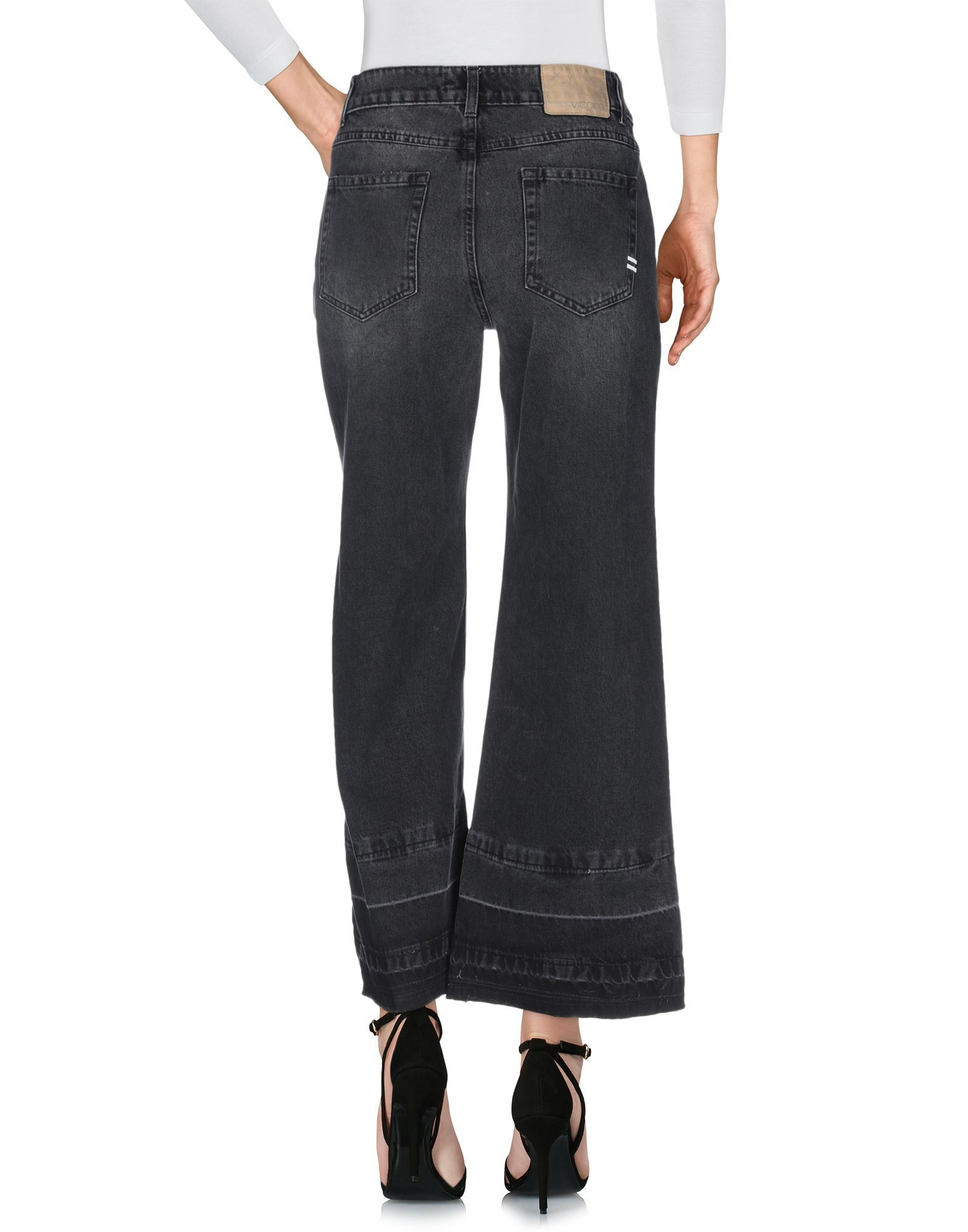 Denim Vicolo Black Women's Cotton