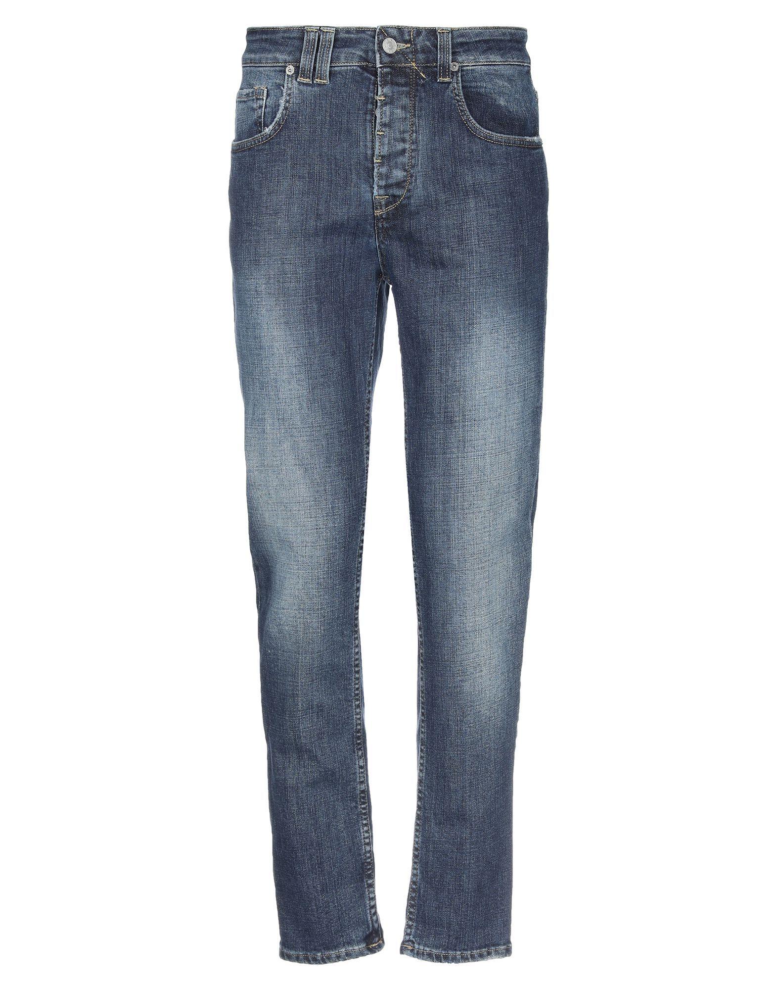 Cycle Man Denim trousers Blue Cotton