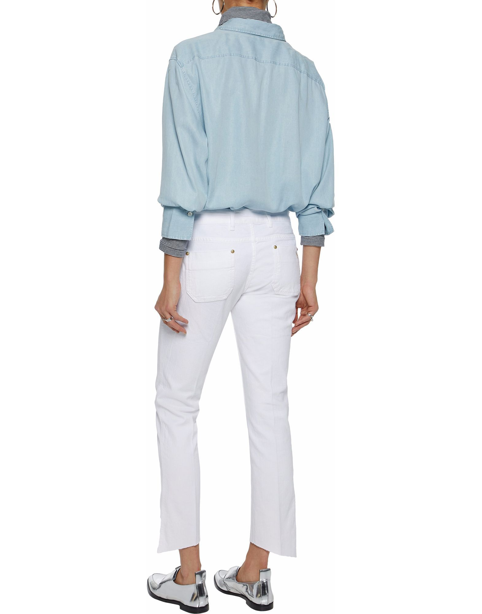 M.I.H Jeans White Cotton Jeans