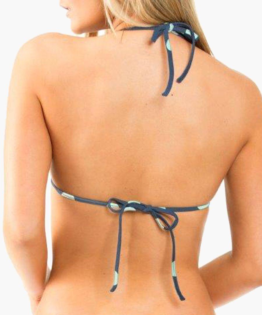 Navy blue bikini top